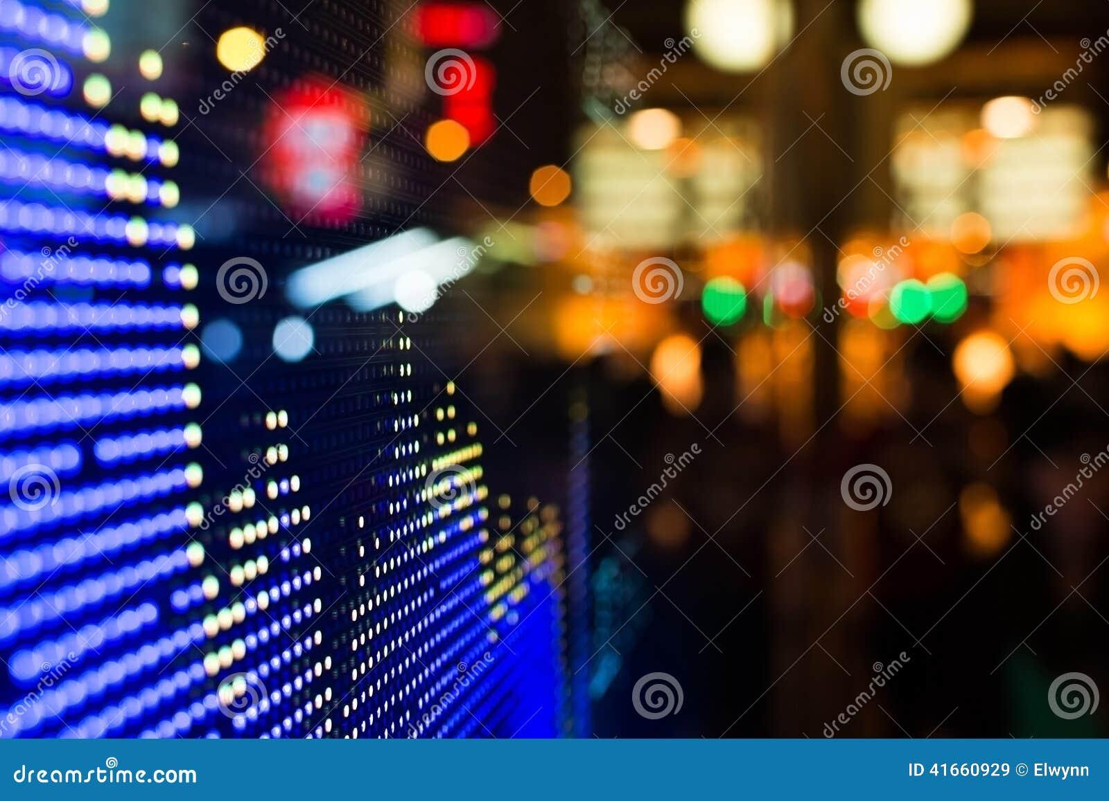 Дисплей рыночной цены фондовой биржи