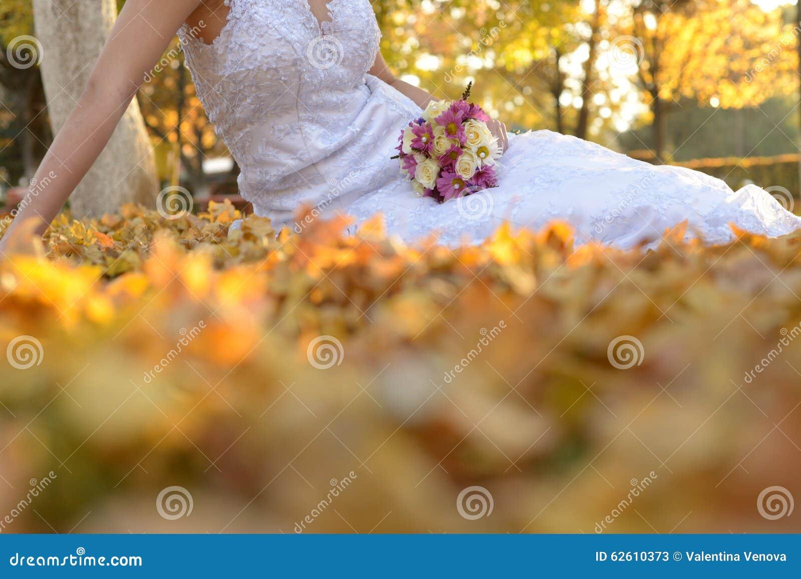 Дни осени в свадьбе запаса