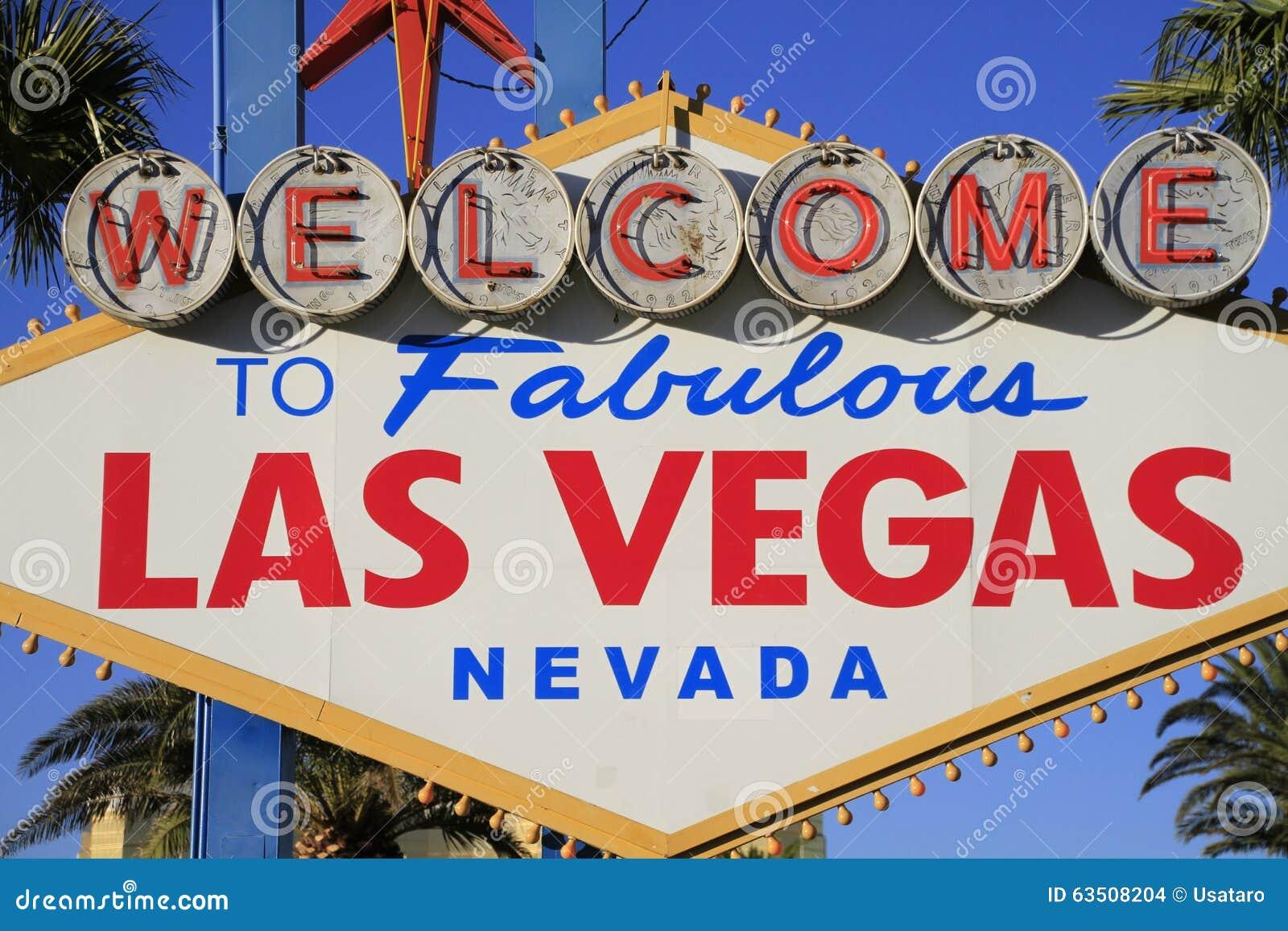 Добро пожаловать никогда, который нужно не спать город Лас-Вегас, Америка, США