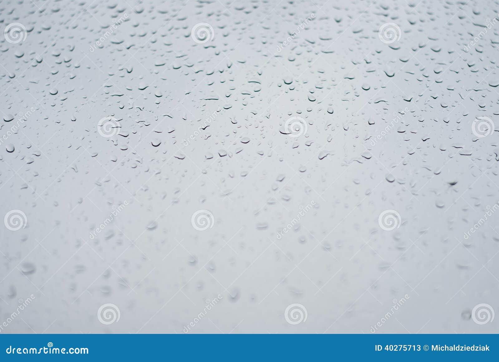 Дождевые капли окна - изображение запаса