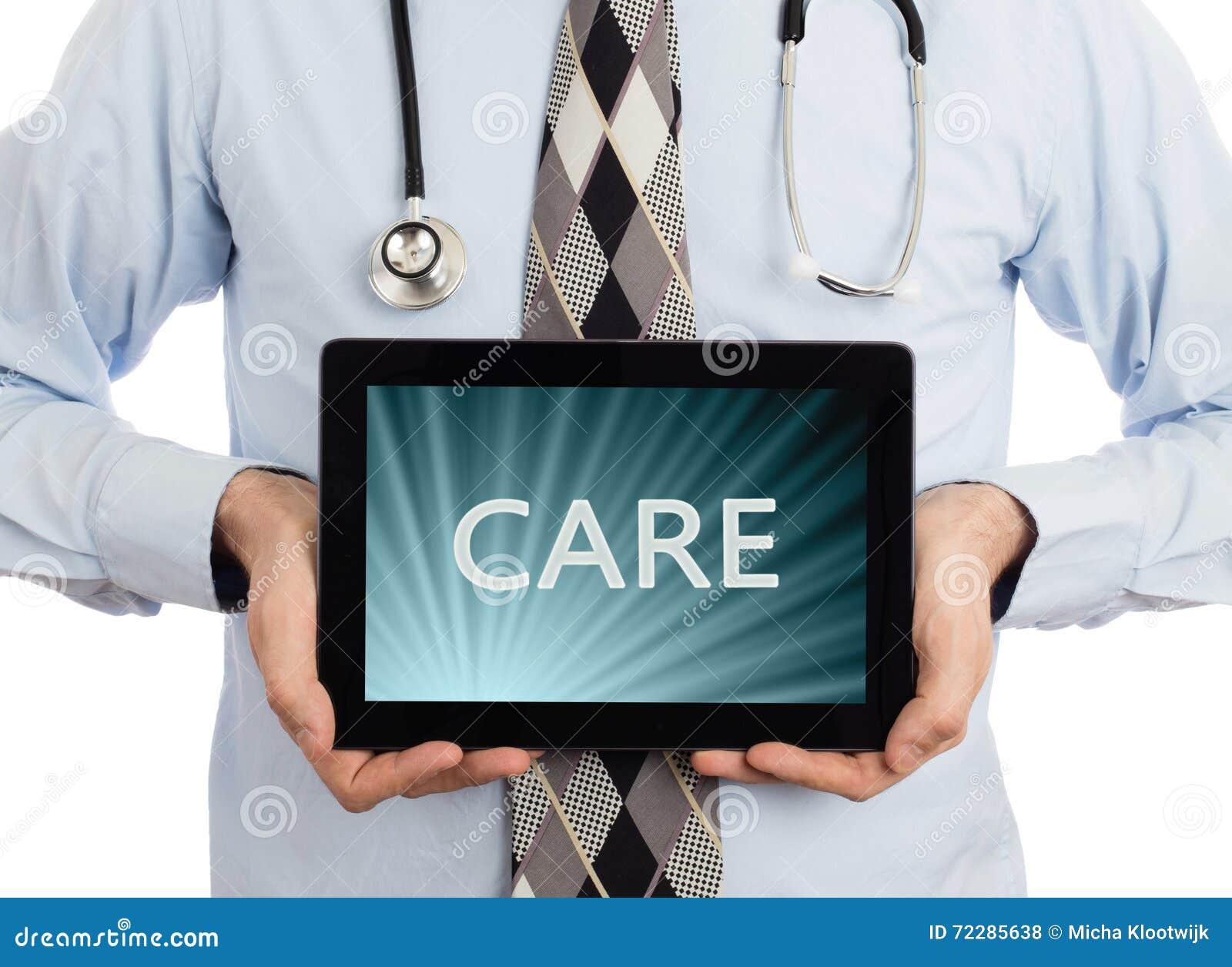 Download Доктор держа таблетку - заботу Иллюстрация штока - иллюстрации насчитывающей передвижно, рука: 72285638