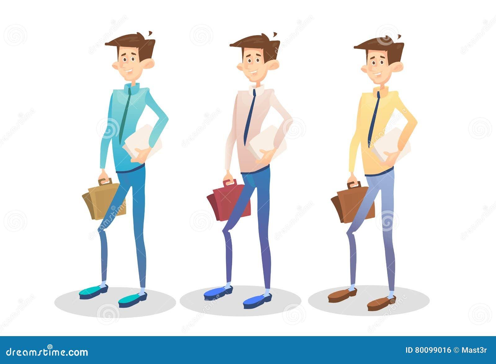 Документ чемодана владением молодого менеджера бизнесмена установленный, собрание бизнесмена