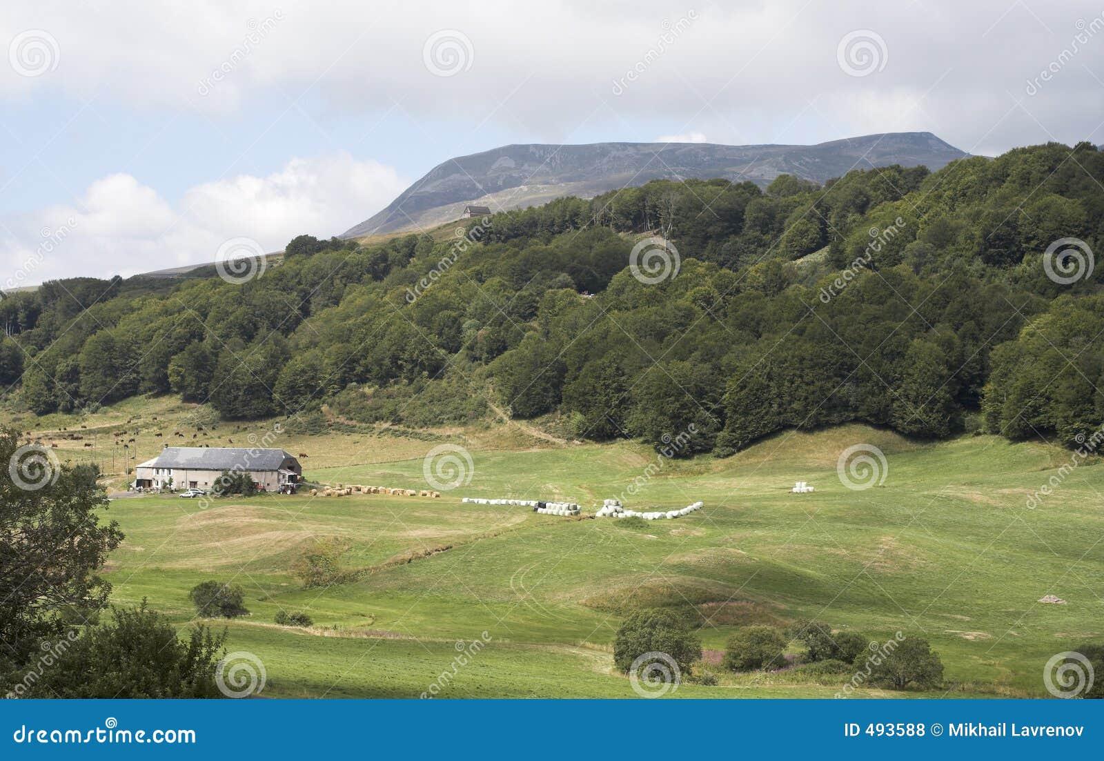 долина гор холмов