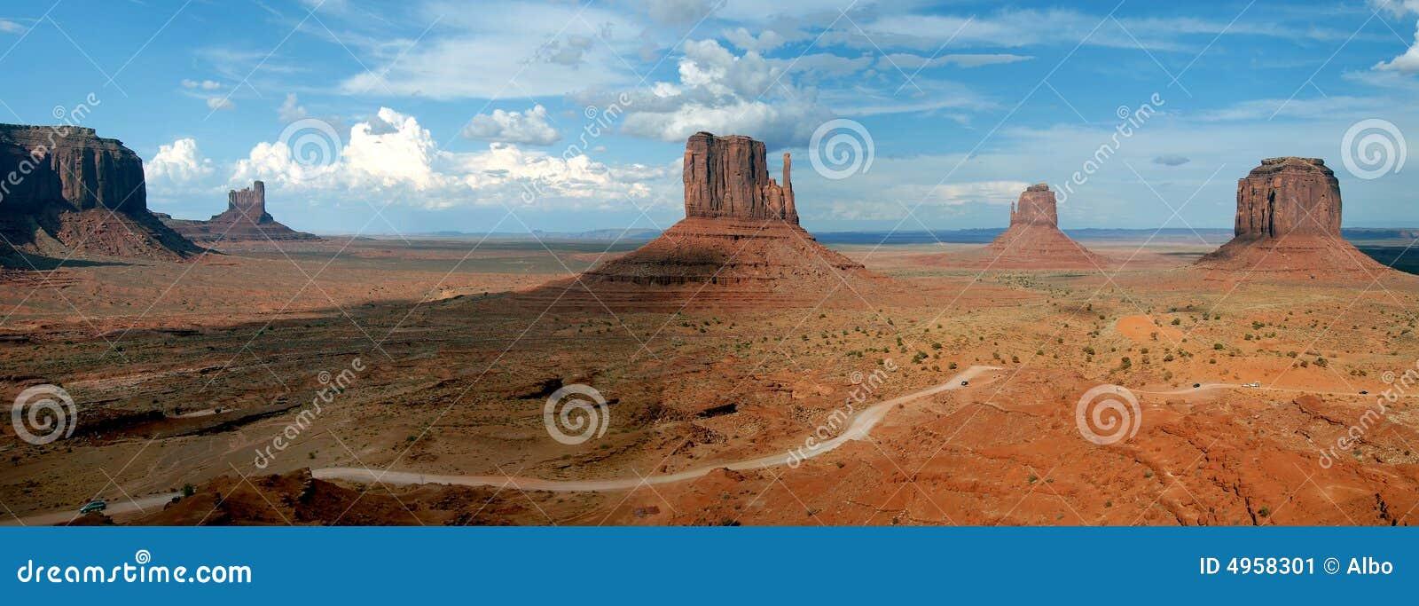 долина панорамы памятника