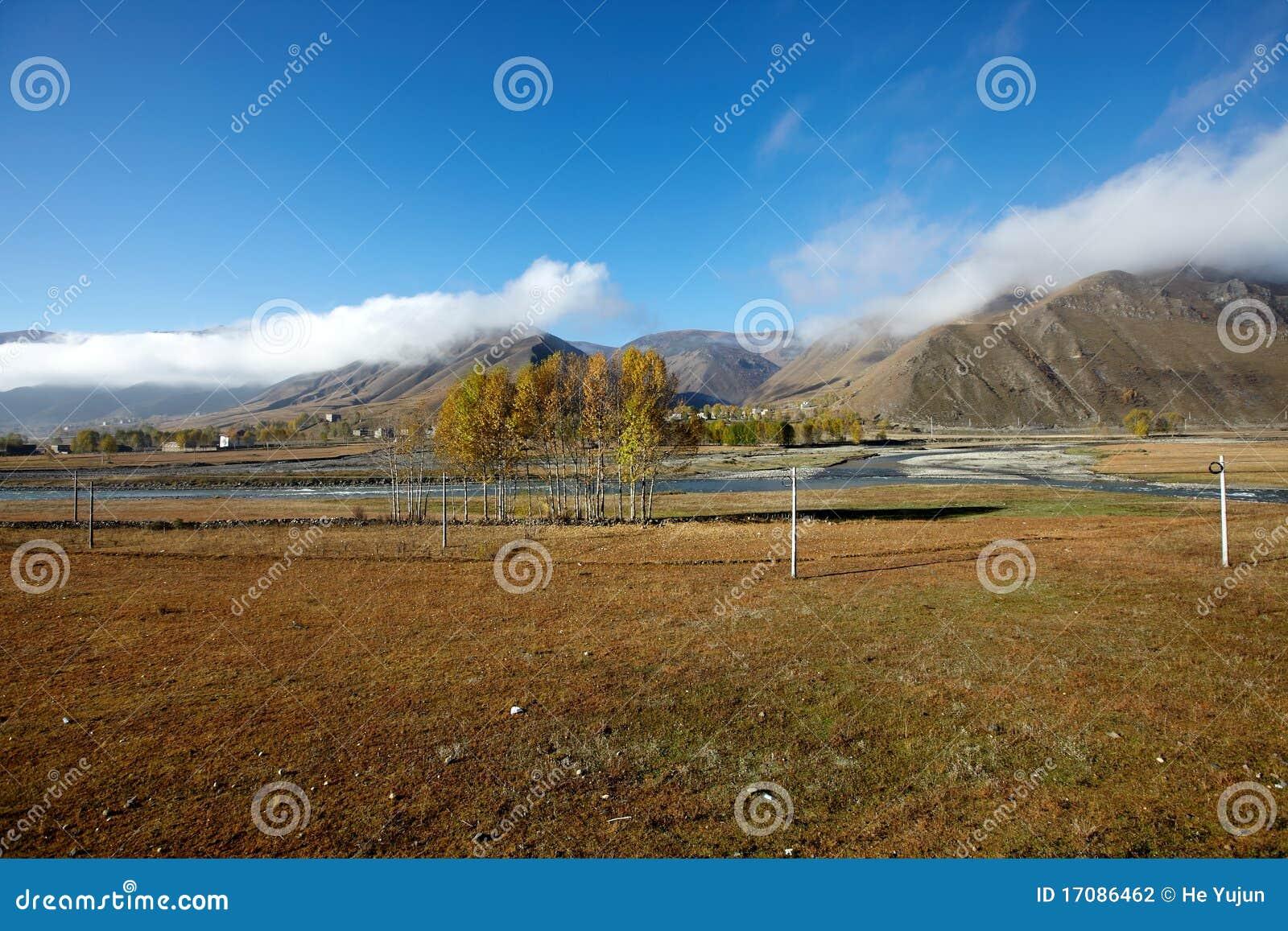 долина плато chuanxi