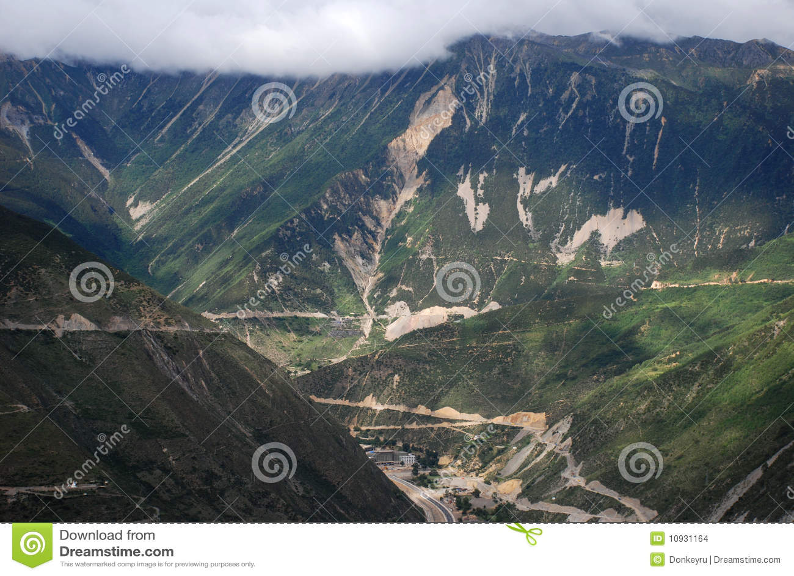 долина тибетца moutain