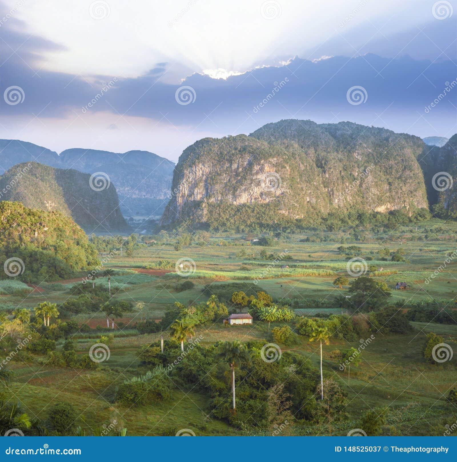 Долина de Vinales, Pinar del Rio, Куба