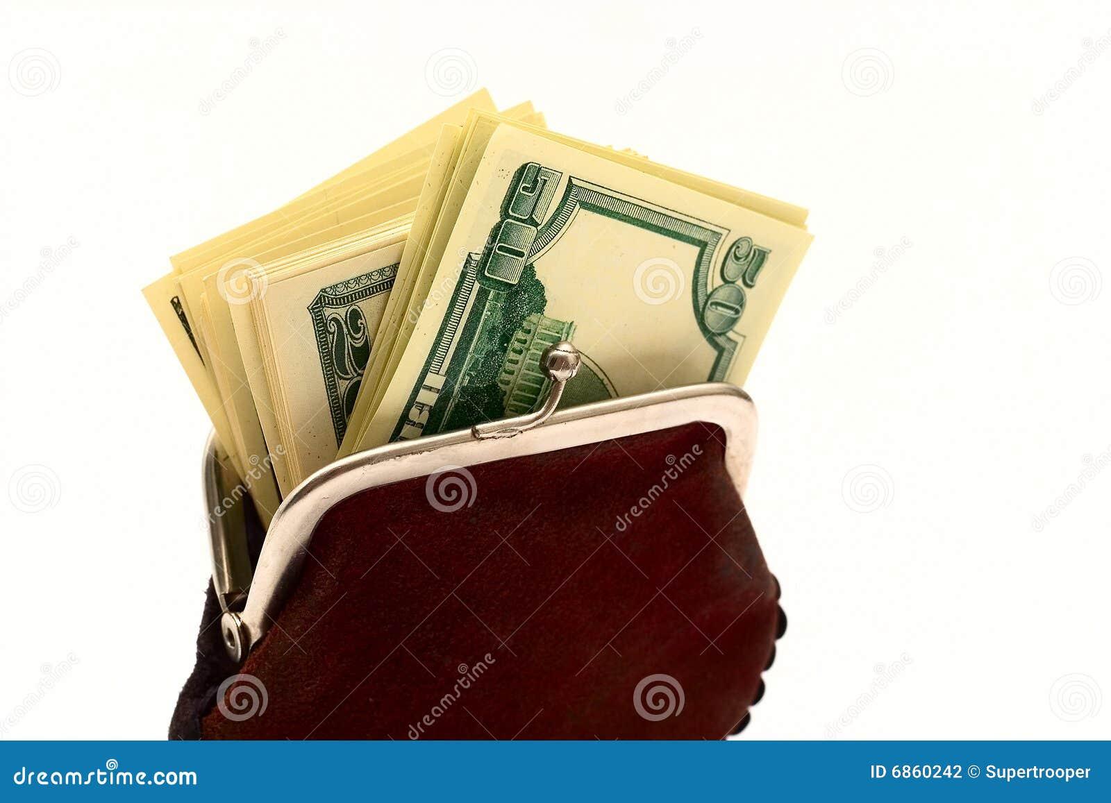 доллары полного портмона