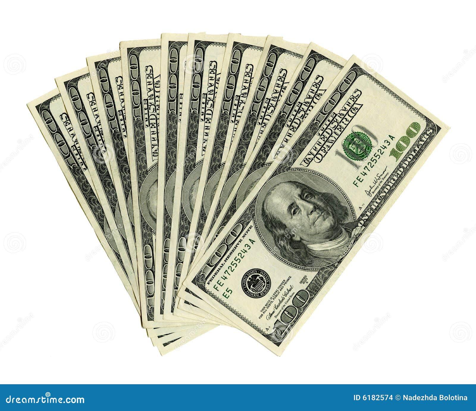 доллары тысяча