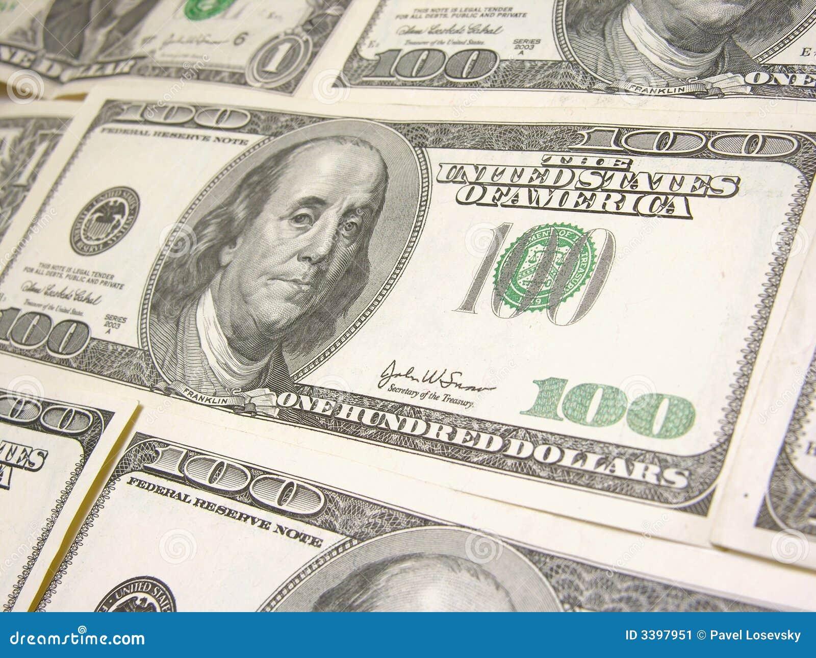 доллары 100 предпосылки
