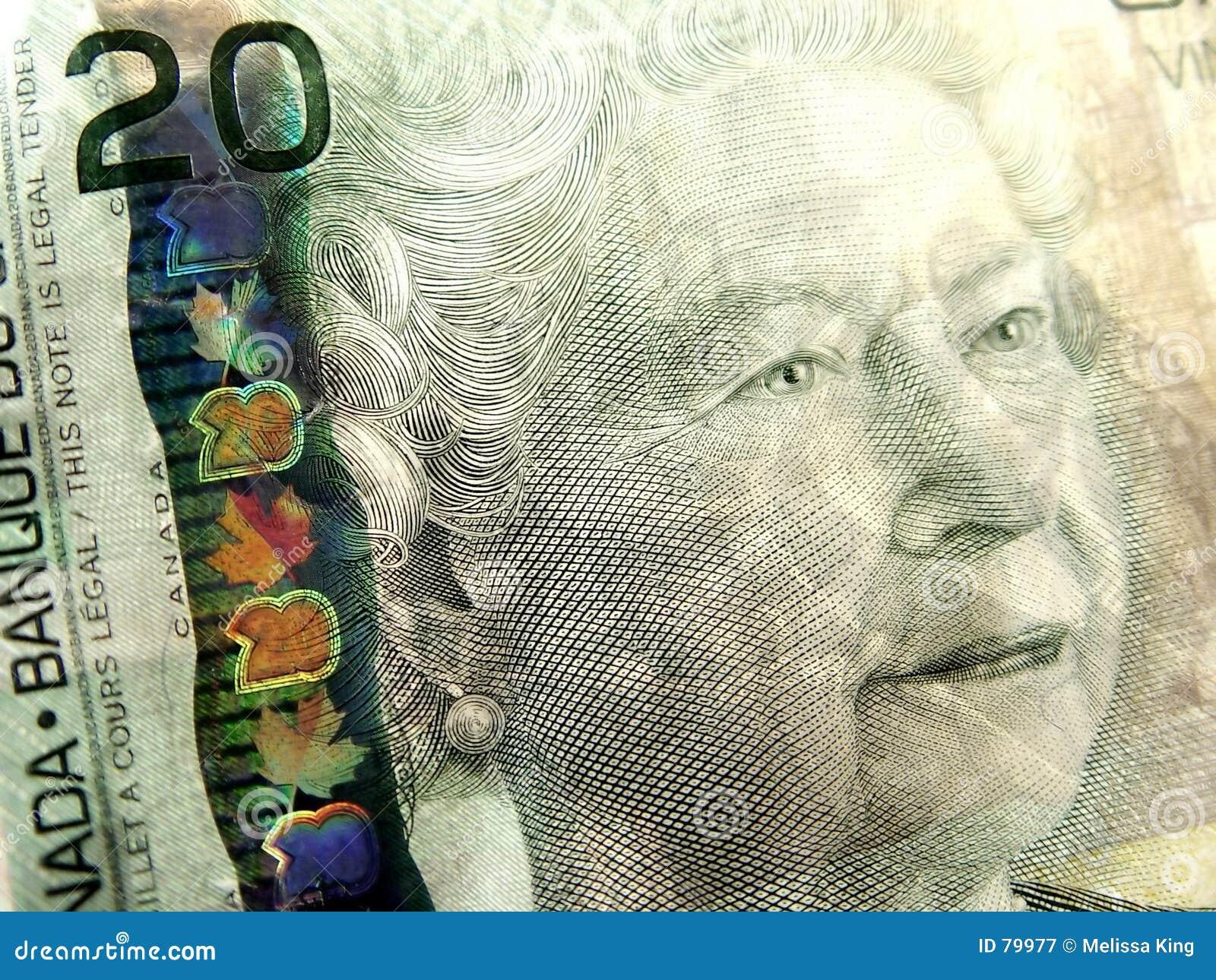 доллар 20 крупного плана счета