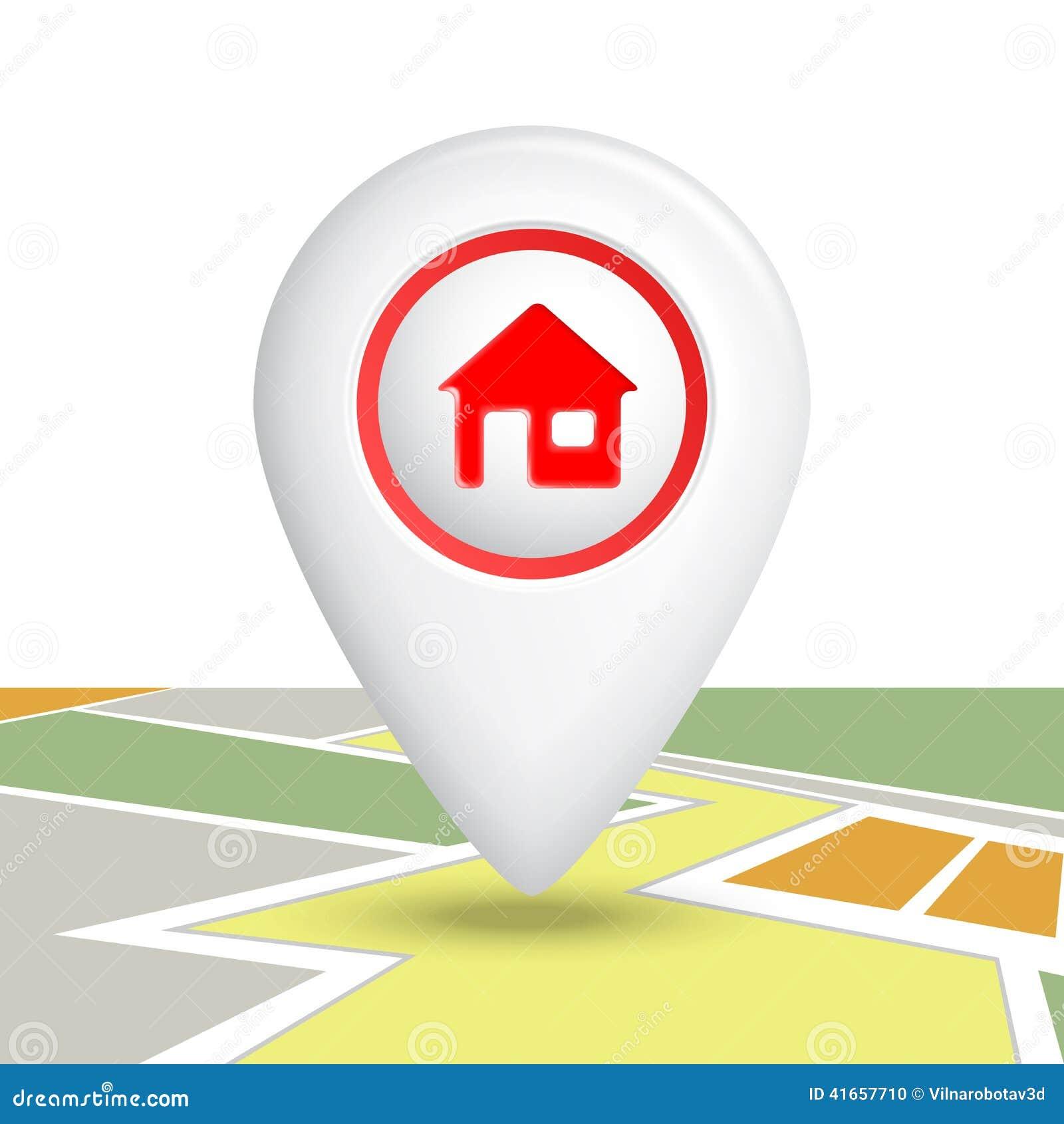 Домашний Pin значка