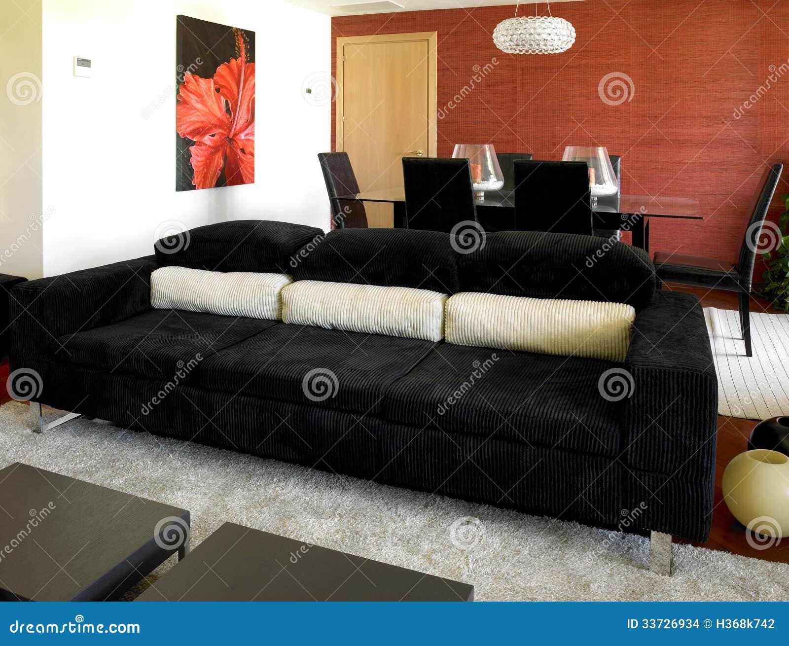 Домашняя живущая комната
