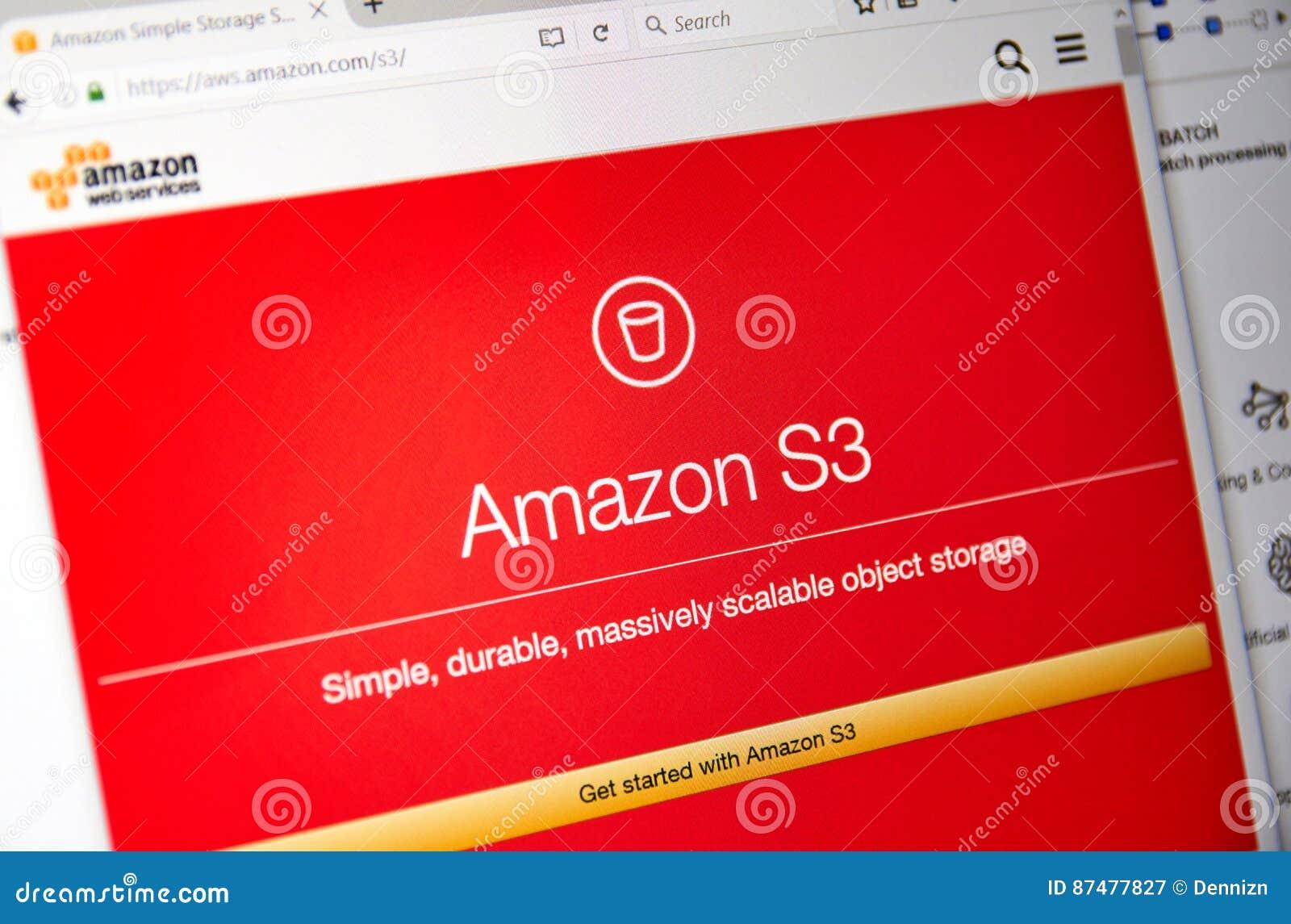 Домашняя страница веб-служб Амазонки