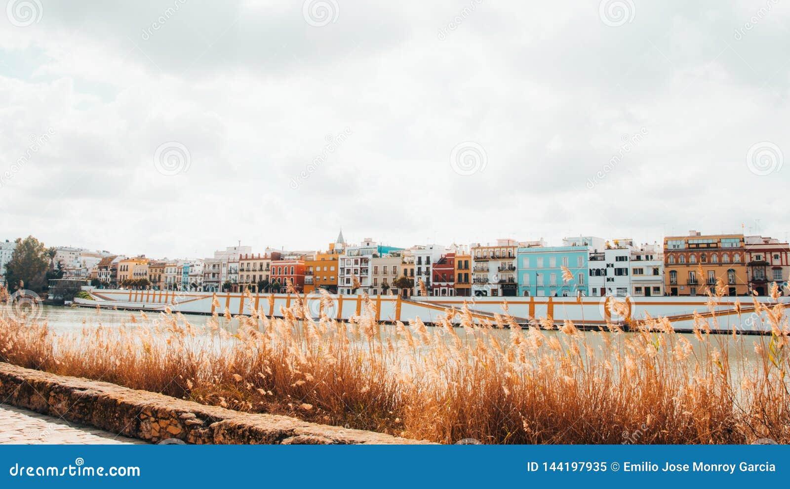 Дома цвета в Севилье