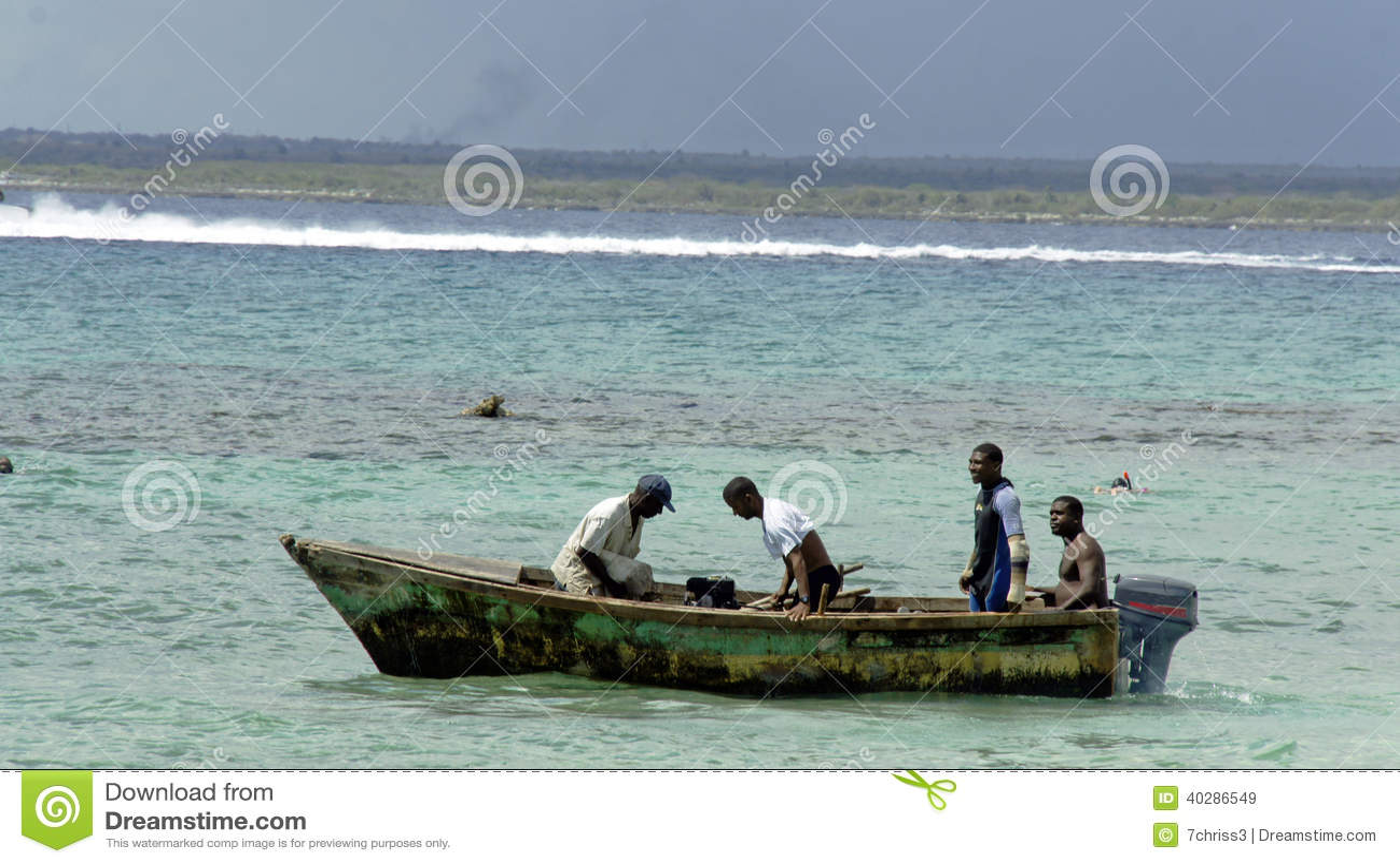 Доминиканский рыболов