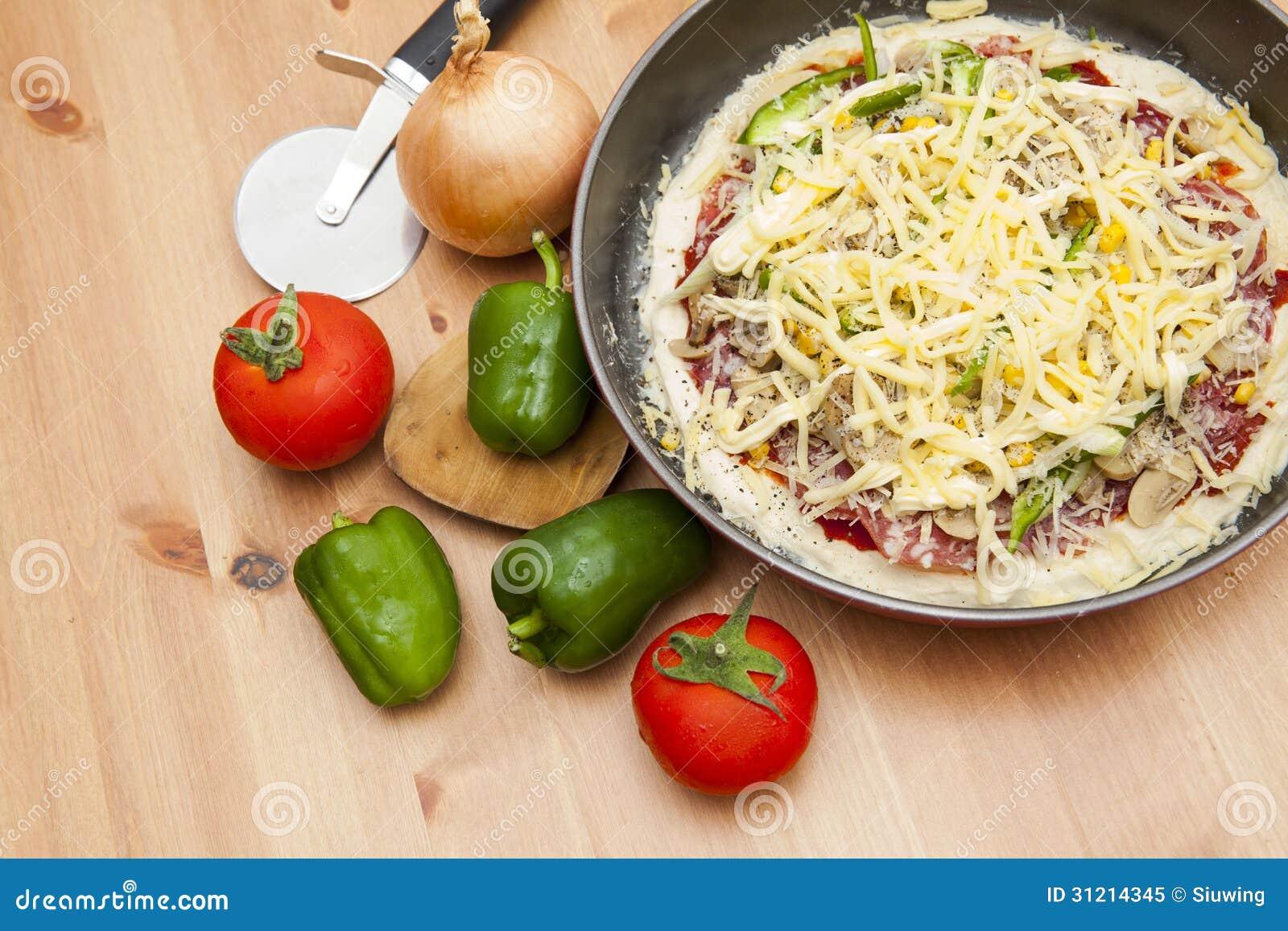 Домодельная пицца