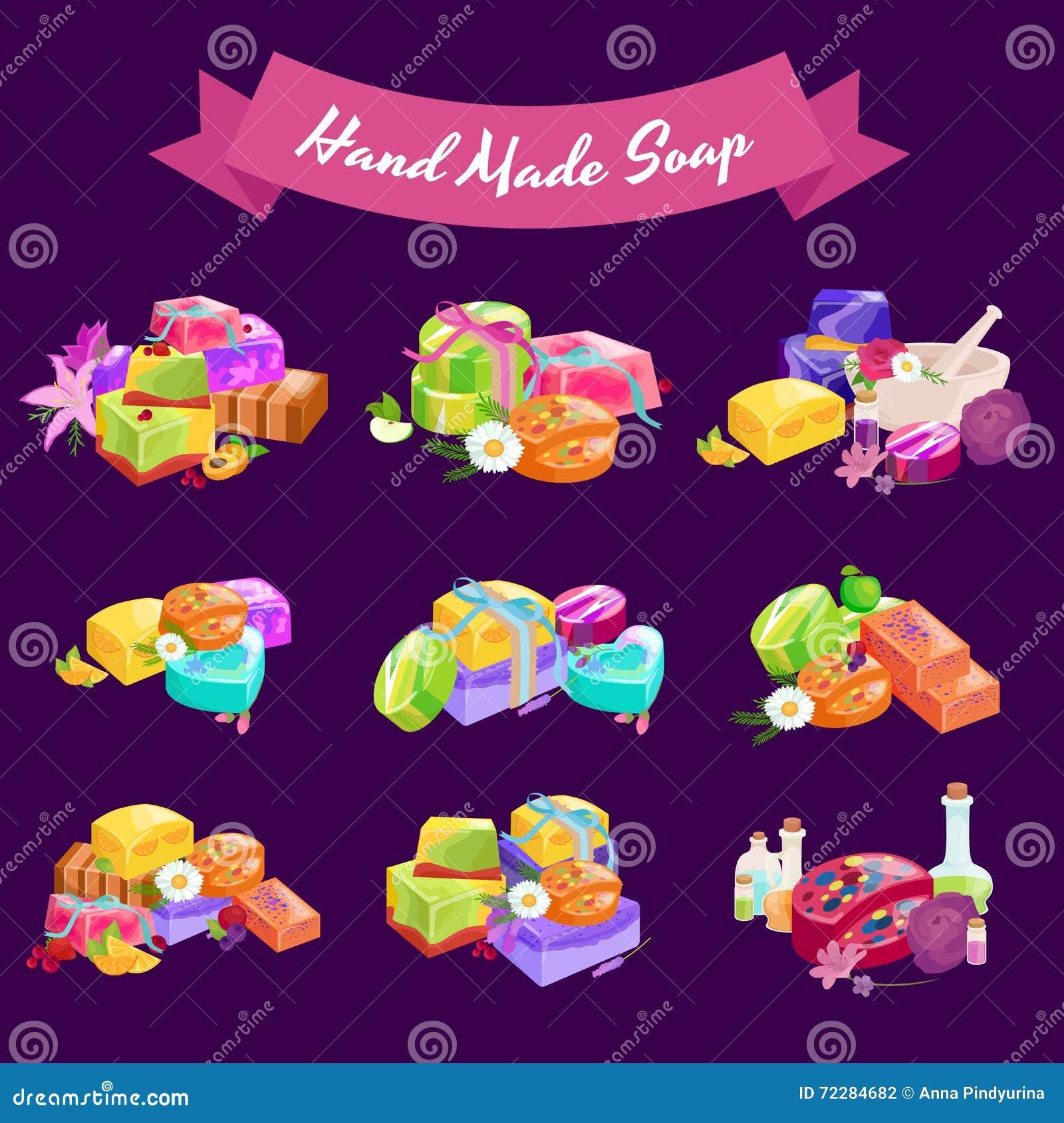 Download Домодельные мыла, цветки и эфирное масло баров установленные Pictograms интернета икон Vector вебсайт сети Иллюстрация вектора - иллюстрации насчитывающей чисто, дивизионов: 72284682