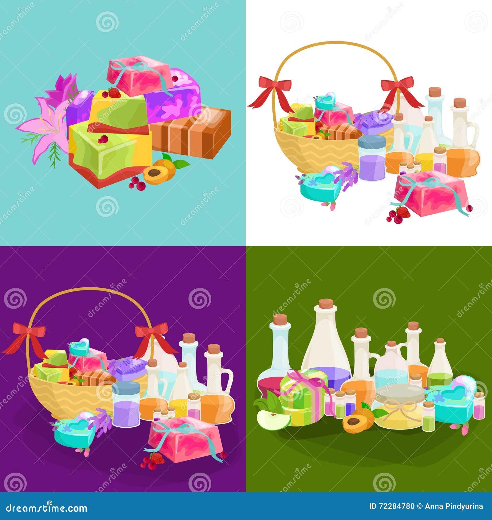 Download Домодельные мыла, цветки и эфирное масло баров установленные Pictograms интернета икон Vector вебсайт сети Иллюстрация вектора - иллюстрации насчитывающей здорово, armoring: 72284780