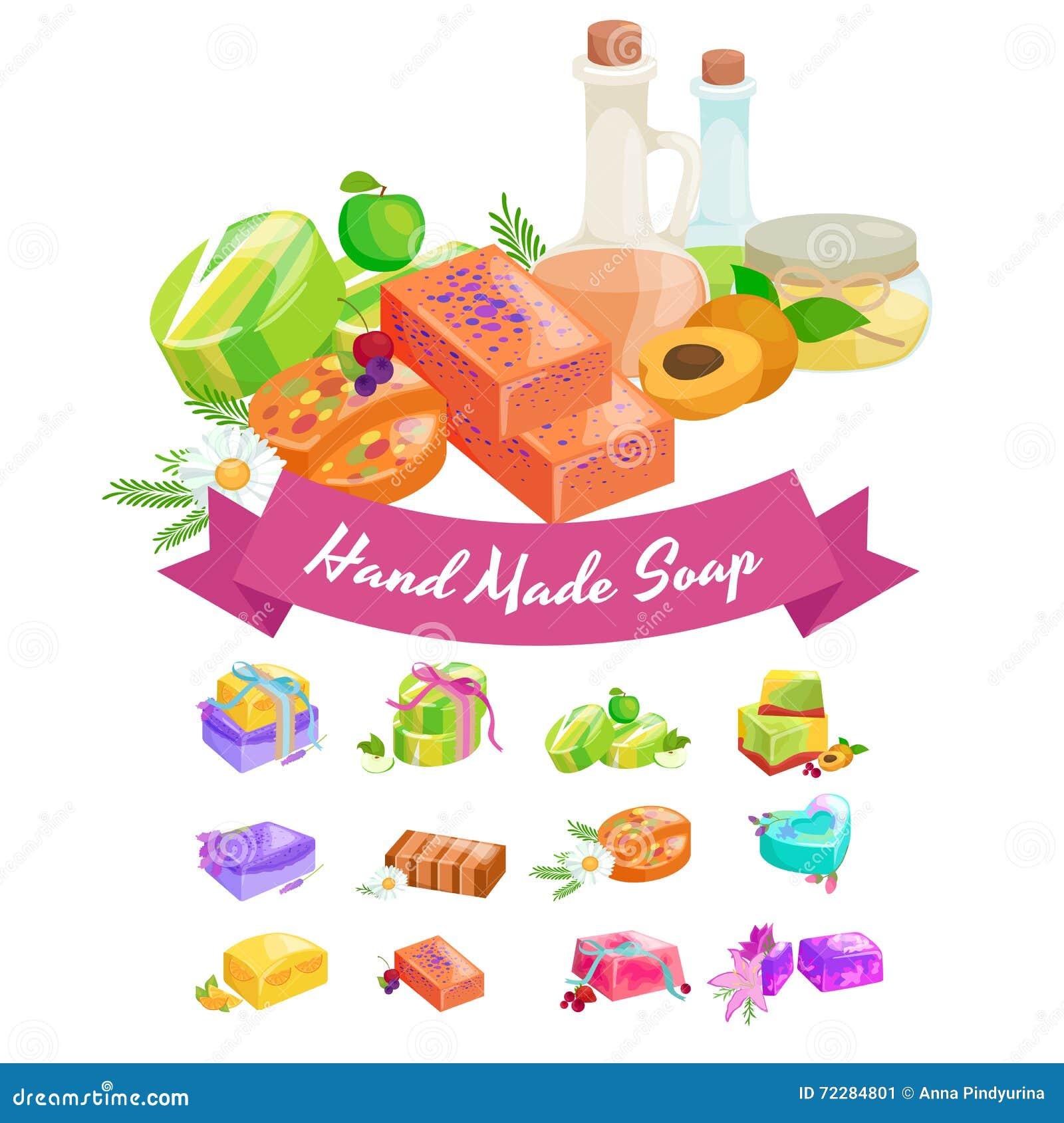 Download Домодельные мыла, цветки и эфирное масло баров установленные Pictograms интернета икон Vector вебсайт сети Иллюстрация вектора - иллюстрации насчитывающей бронированных, свеже: 72284801