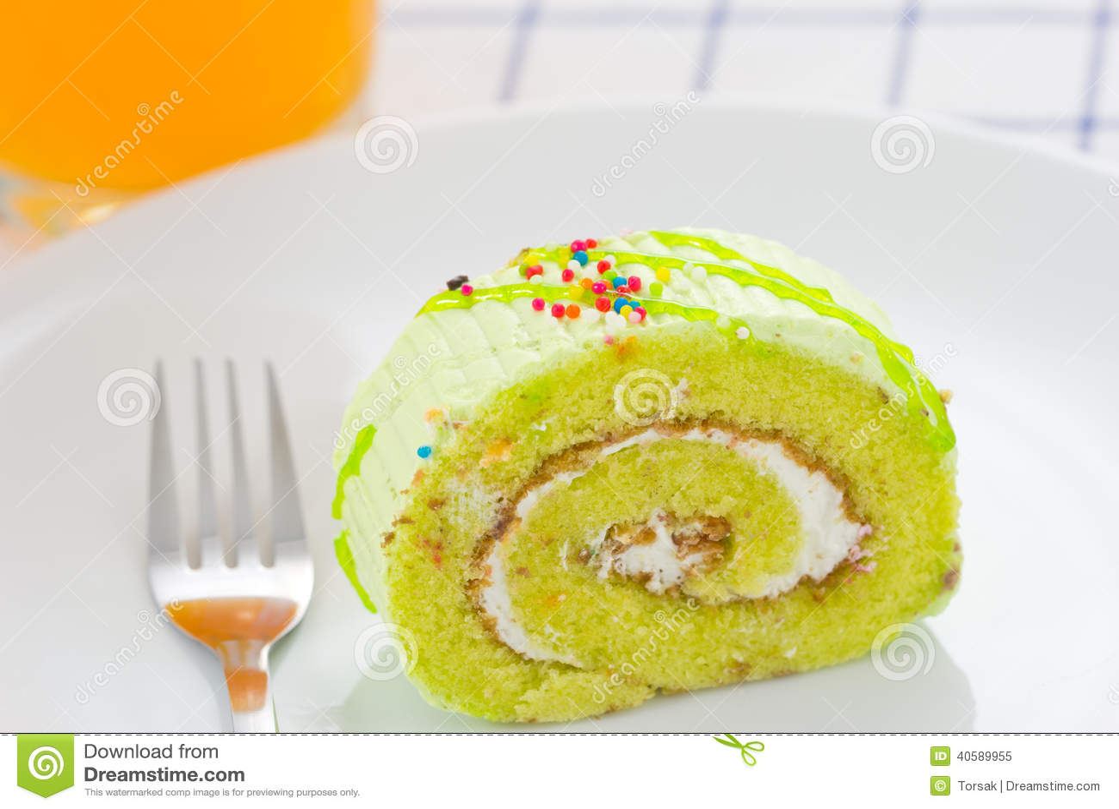Домодельный торт крена