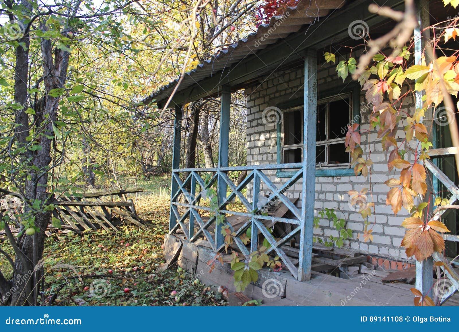 Дом ландшафта старый