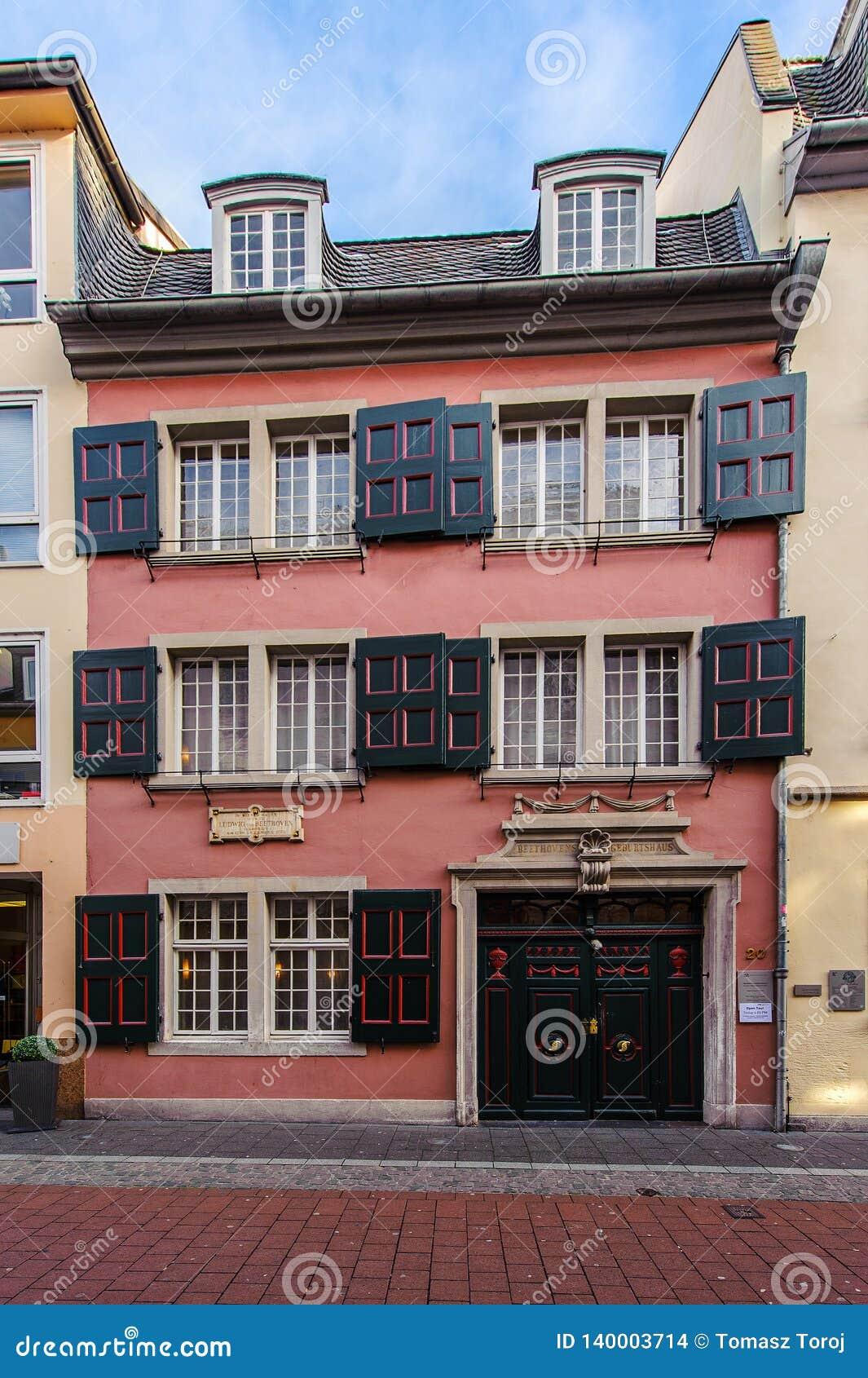 Дом Бетховен в Бонне, Германии