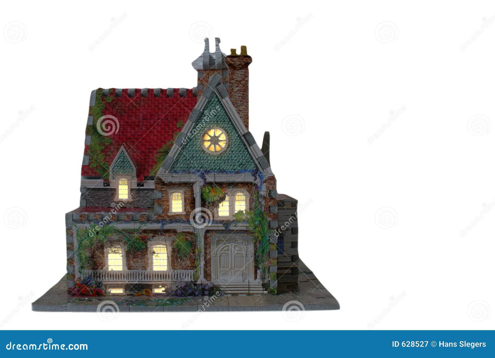 Download дом вечера стоковое изображение. изображение насчитывающей ключ - 628527