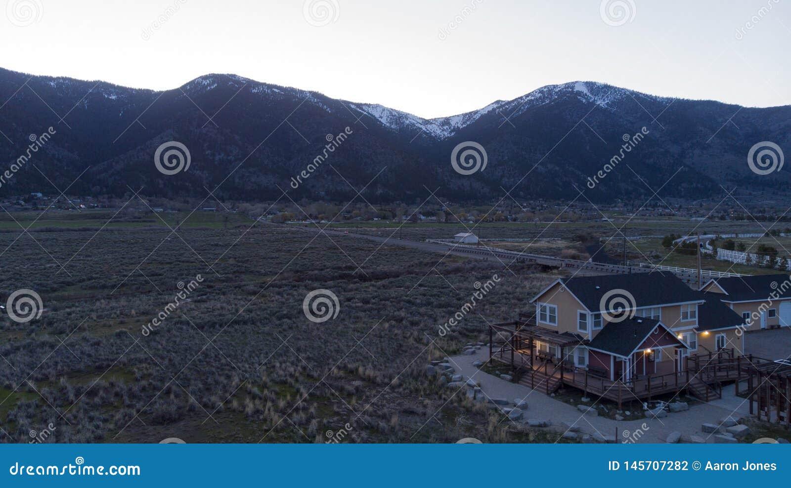 Дом долины в тени