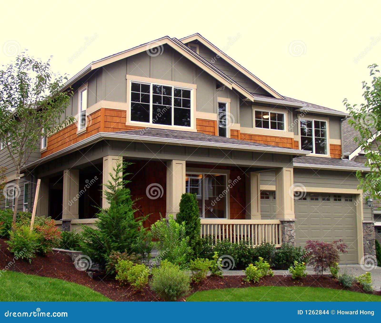 дом новая