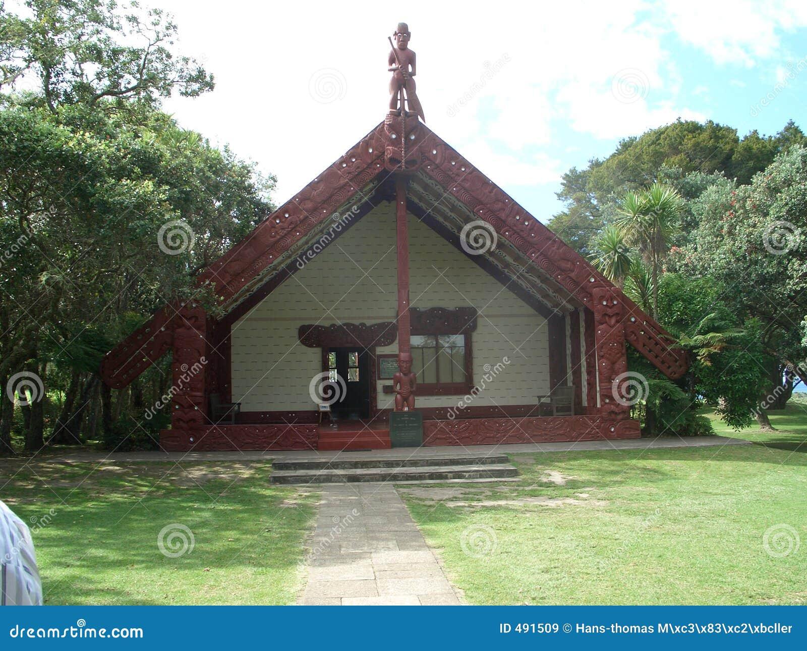 дом общины маорийская