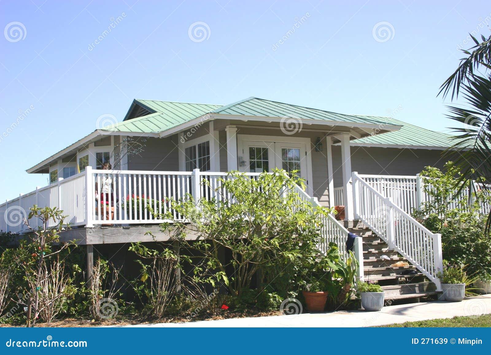 дом пляжа