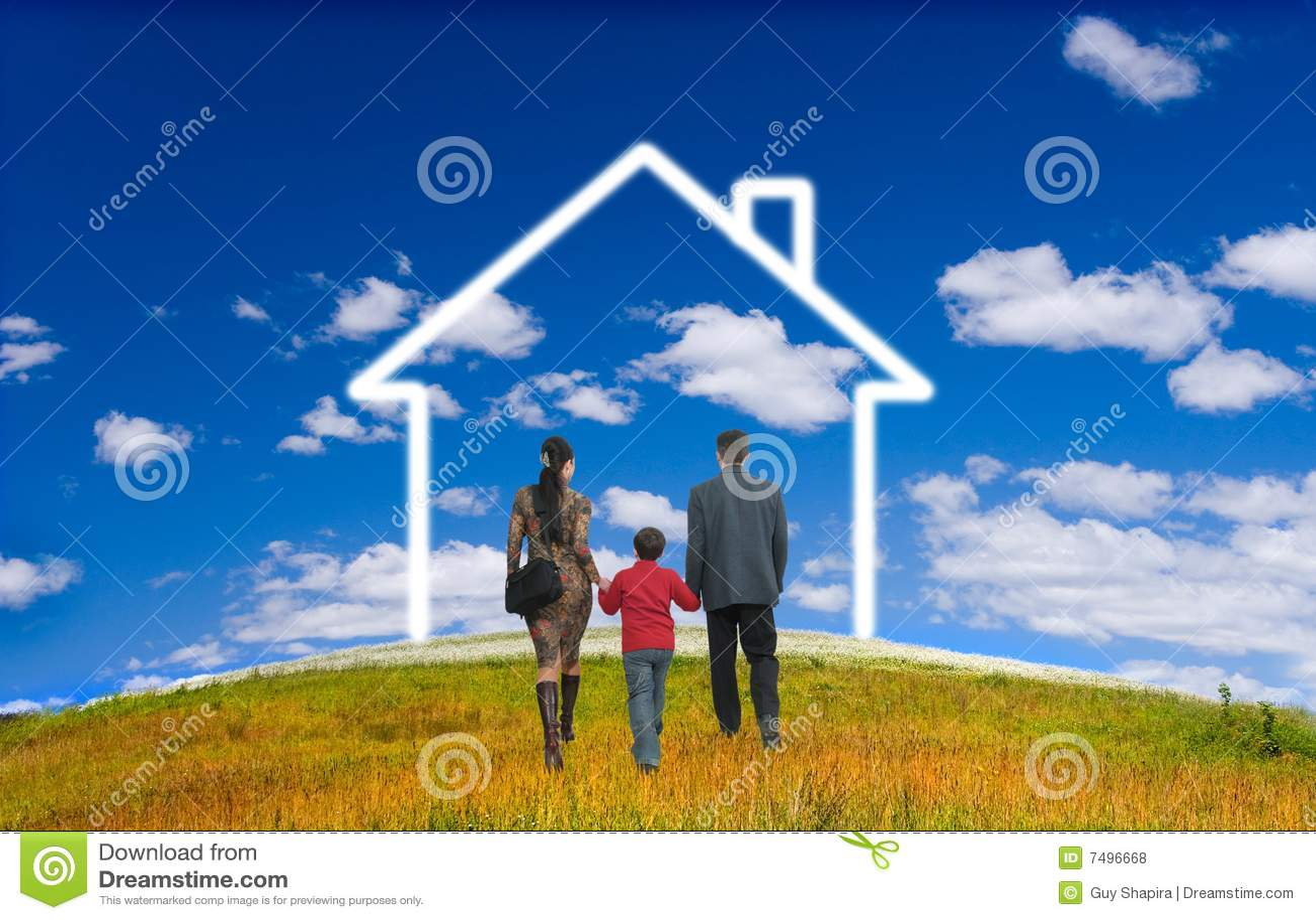 дом семьи счастливая