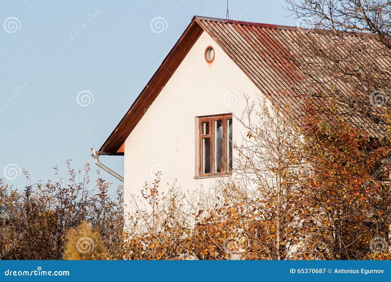 Дом среди деревьев
