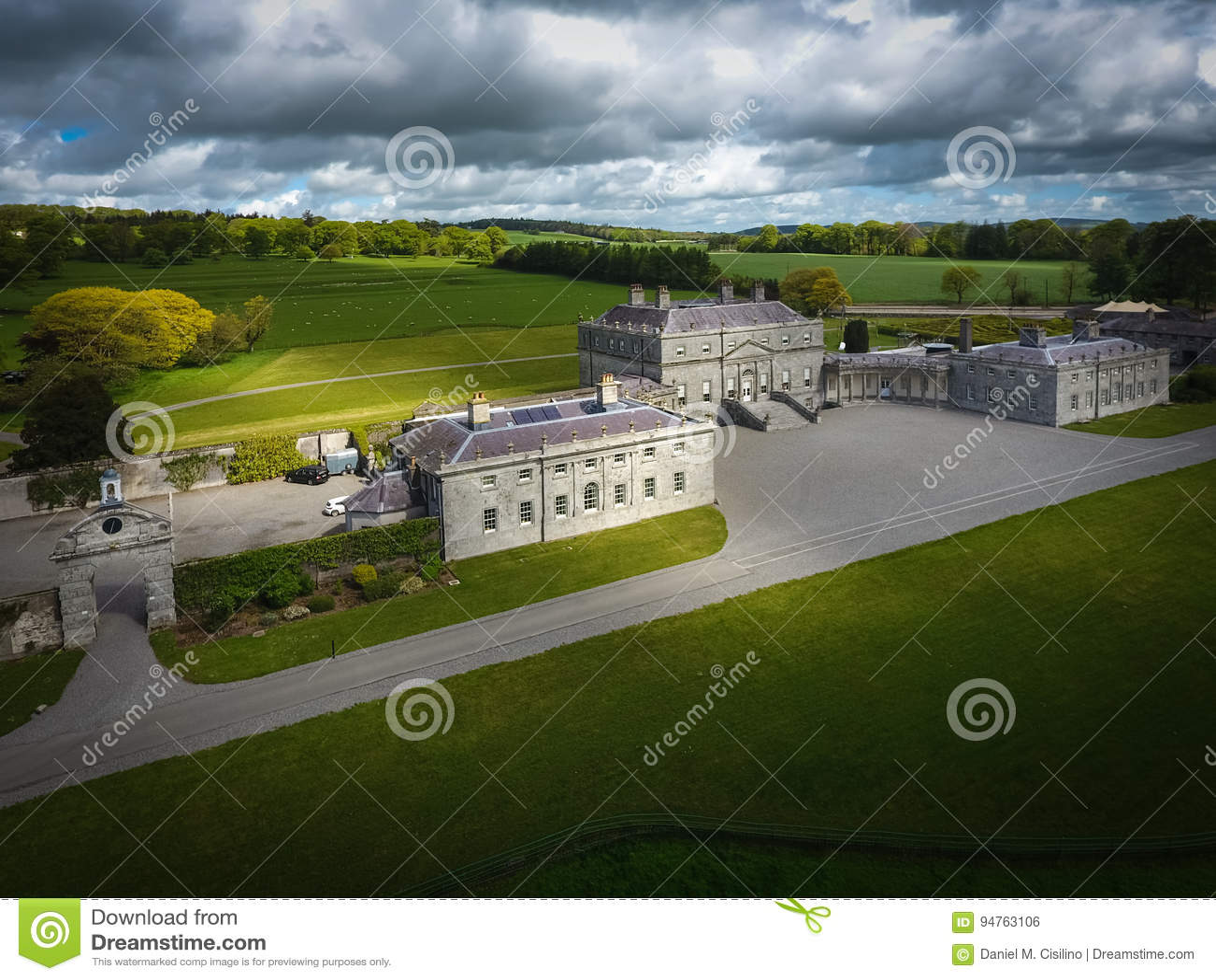 Дом Russborough Wicklow Ирландия