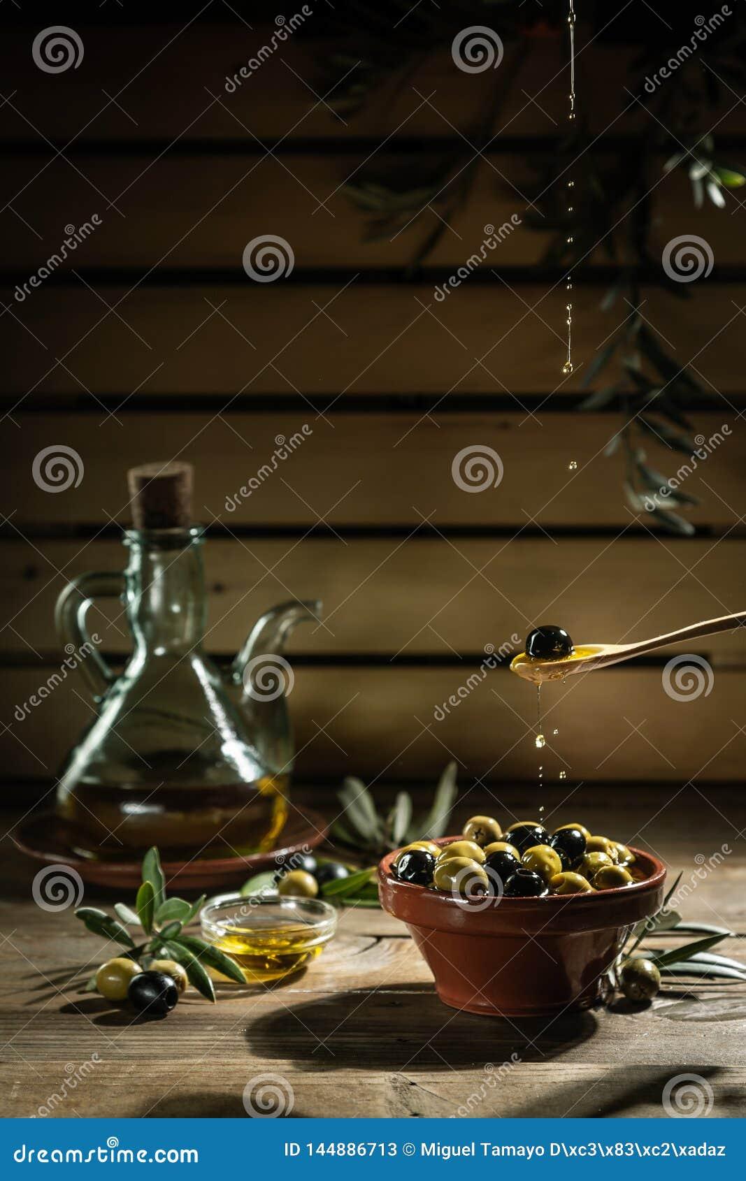 Дополнительное девственное оливковое масло в масле