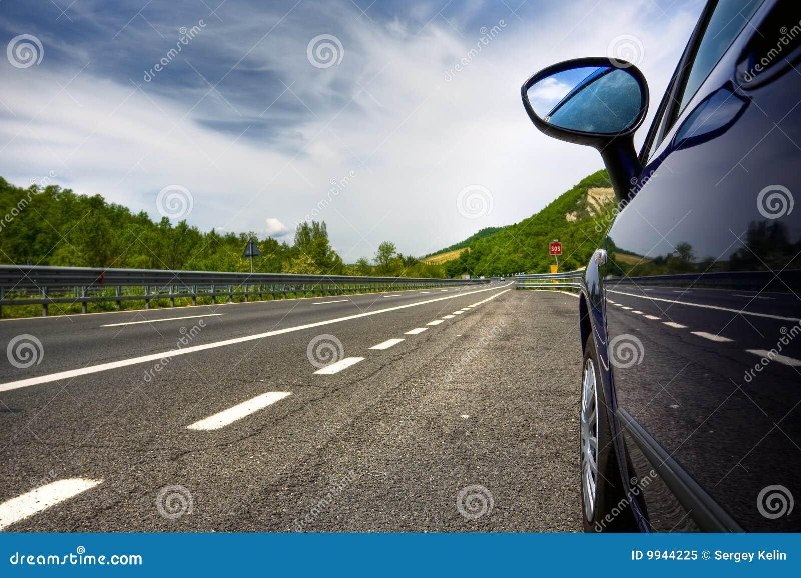 дорога автомобиля