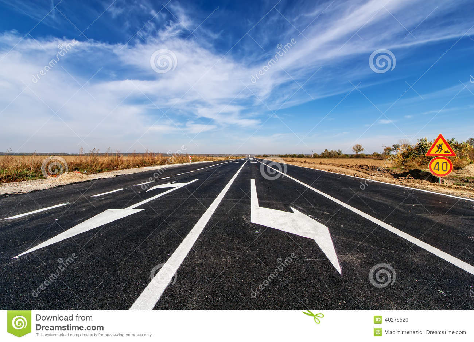 Дорога асфальта