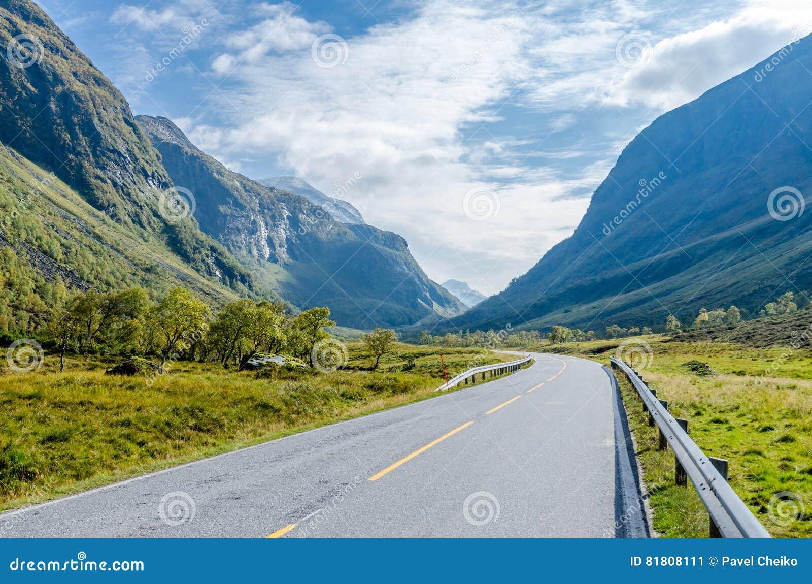 Дорога в горе