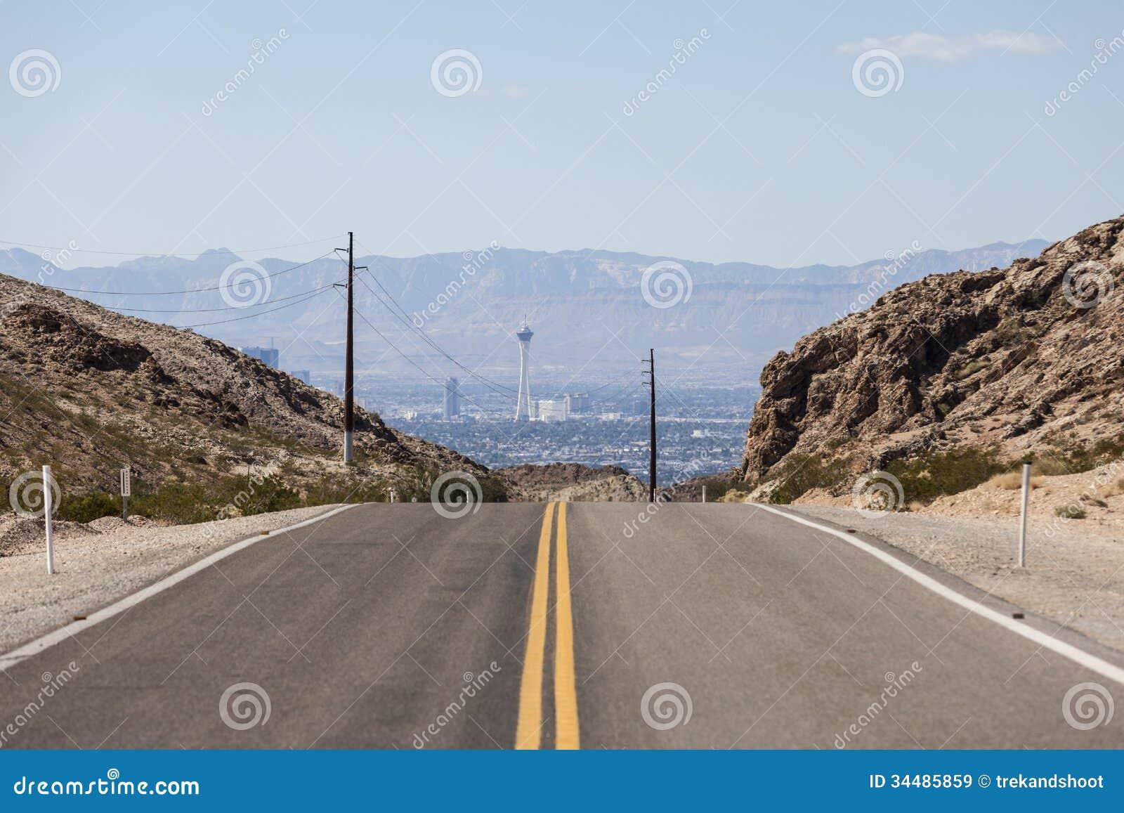 Дорога к стратосфере Лас-Вегас