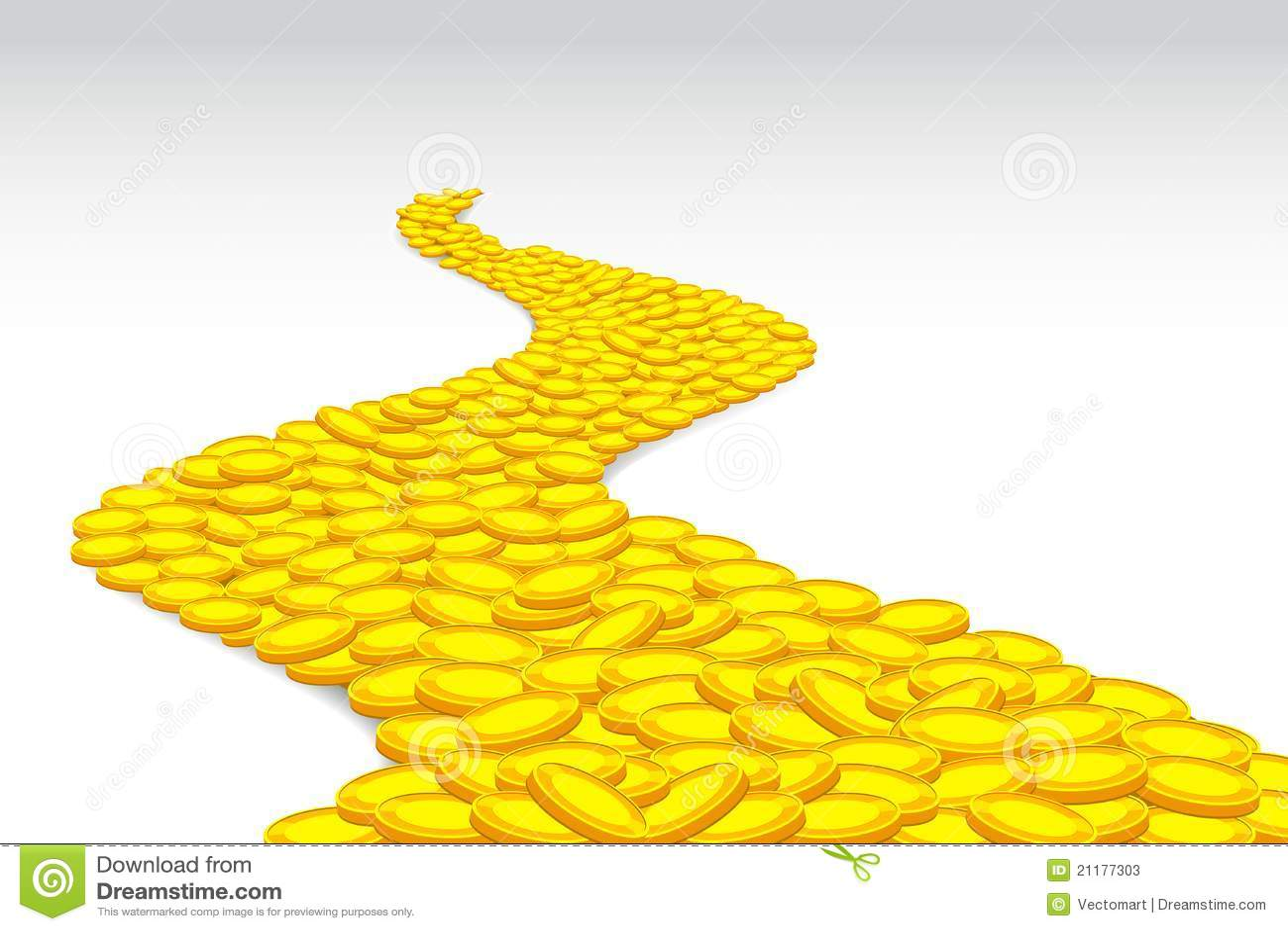дорога монетки