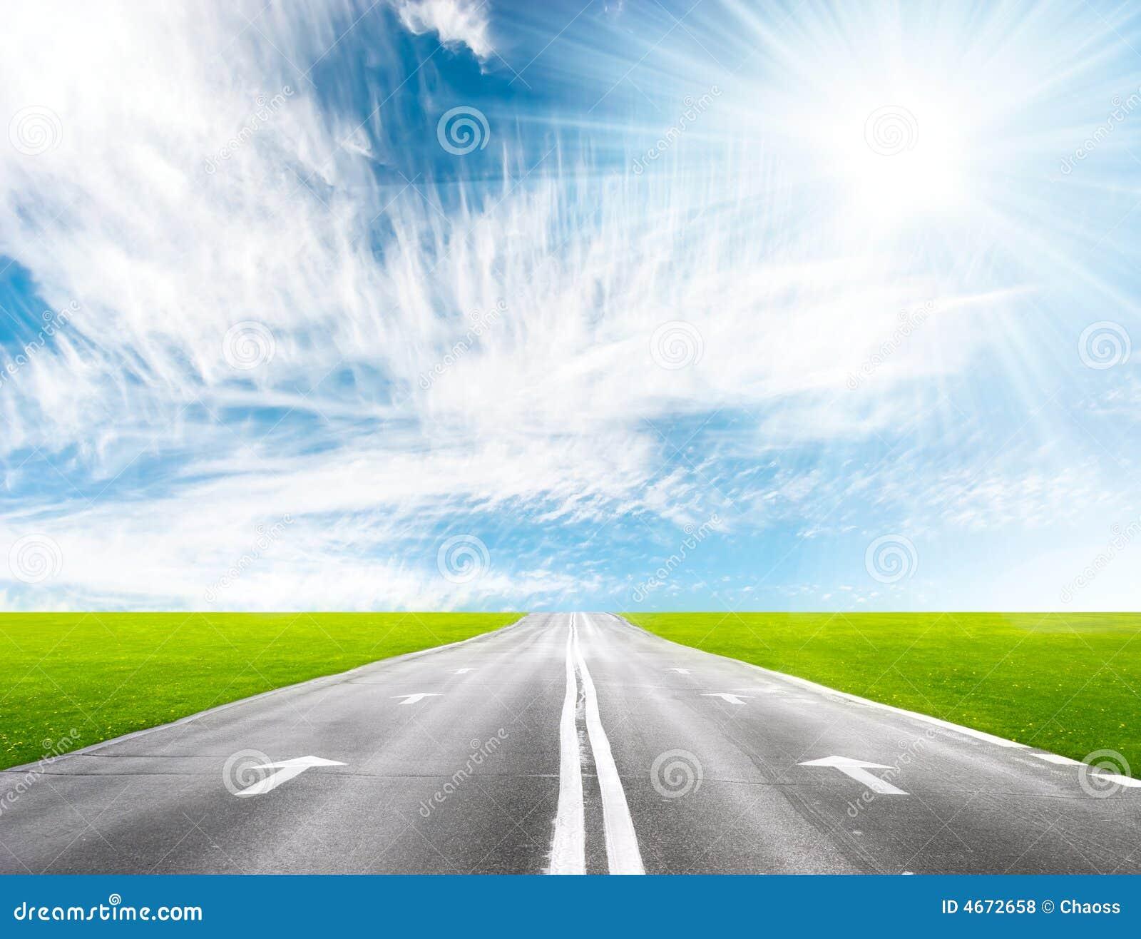 дорога перспективы