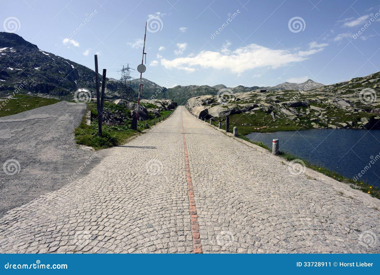 Дорога пропуска Gotthard, Тичино, Швейцария