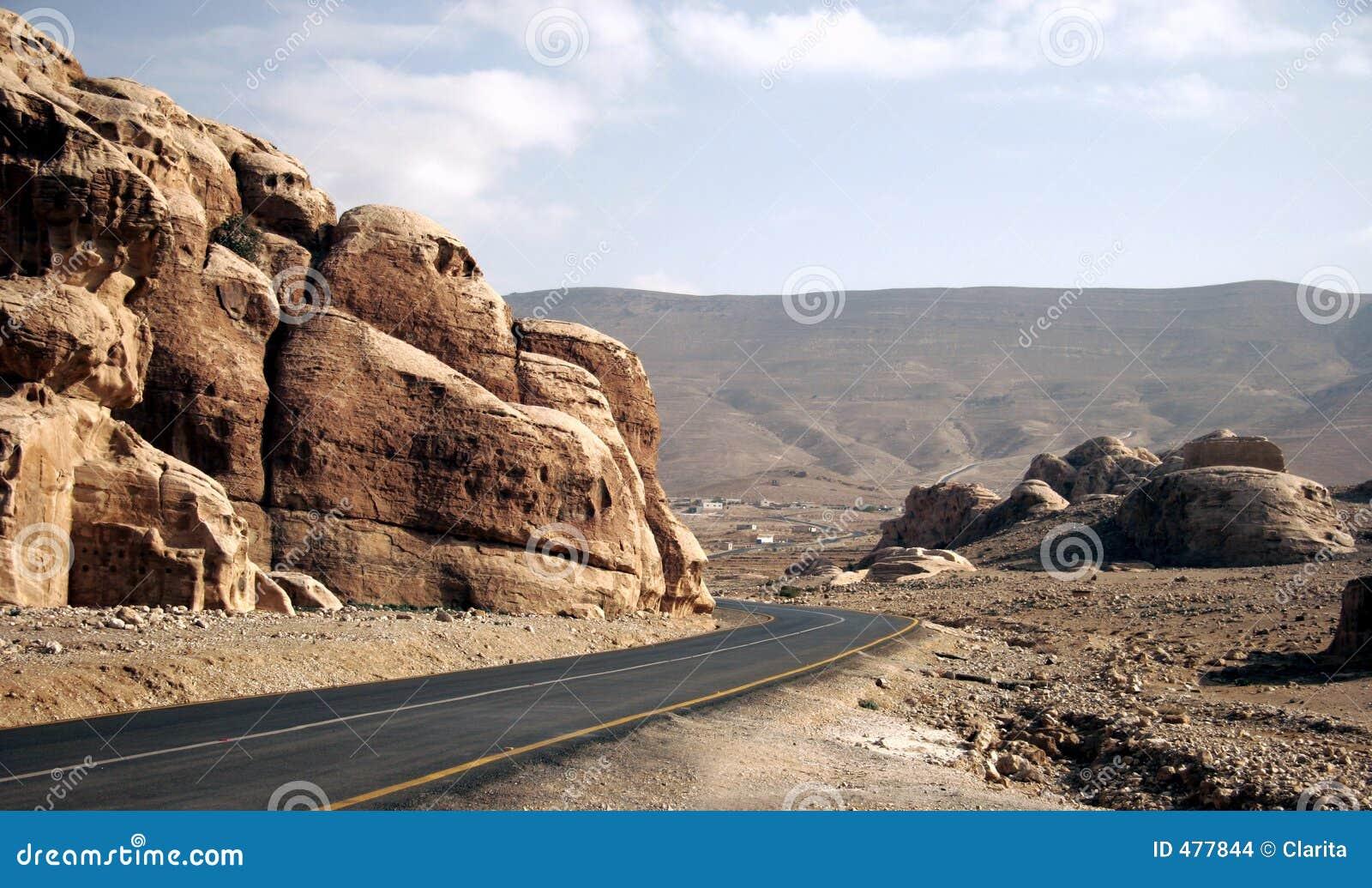 дорога пустыни