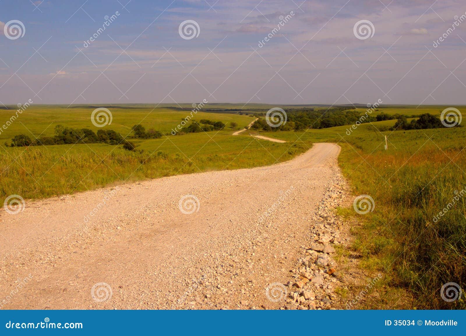 дорога сельской местности
