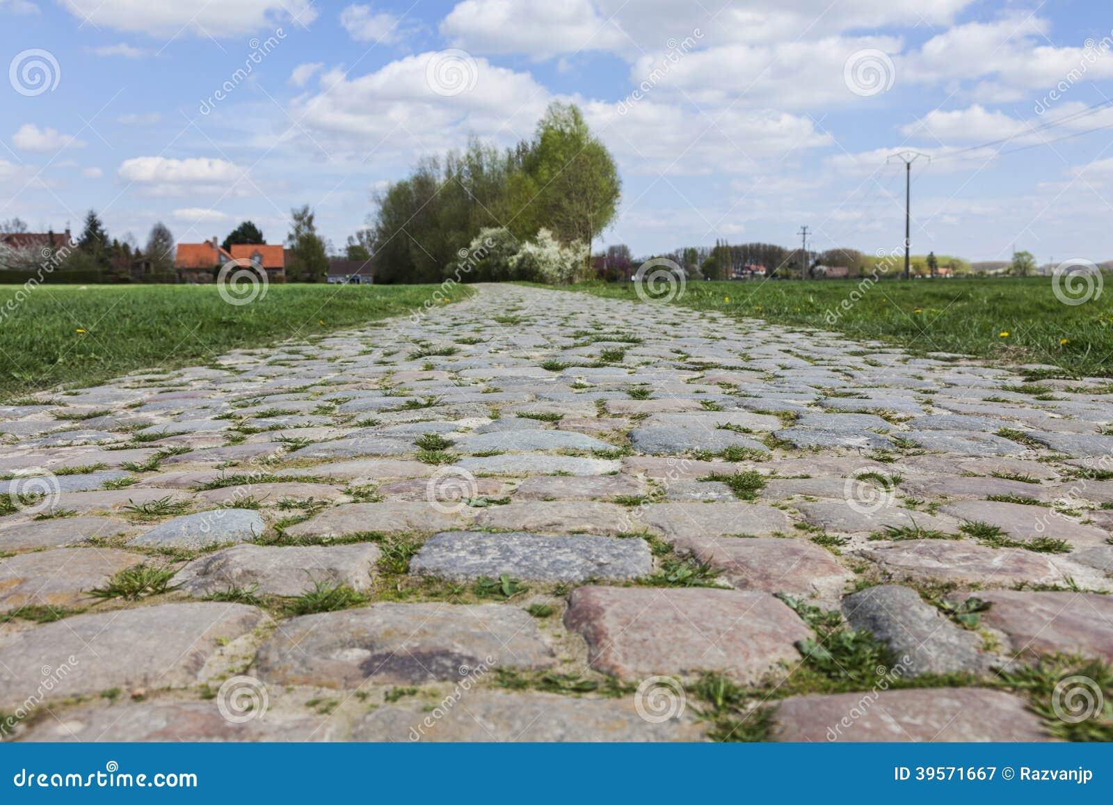 Дорога Cobbelstone