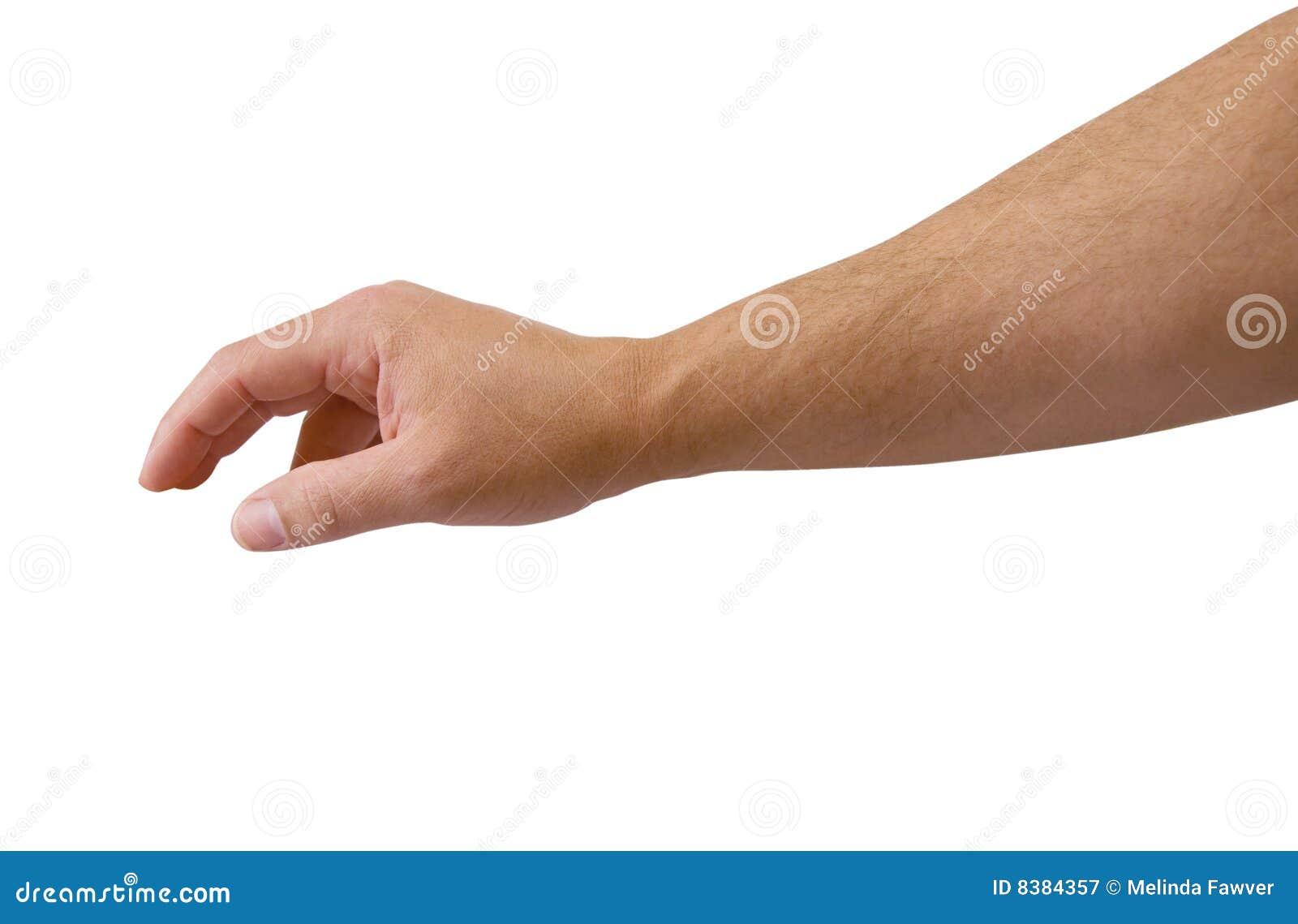 достижение путя клиппирования рукоятки