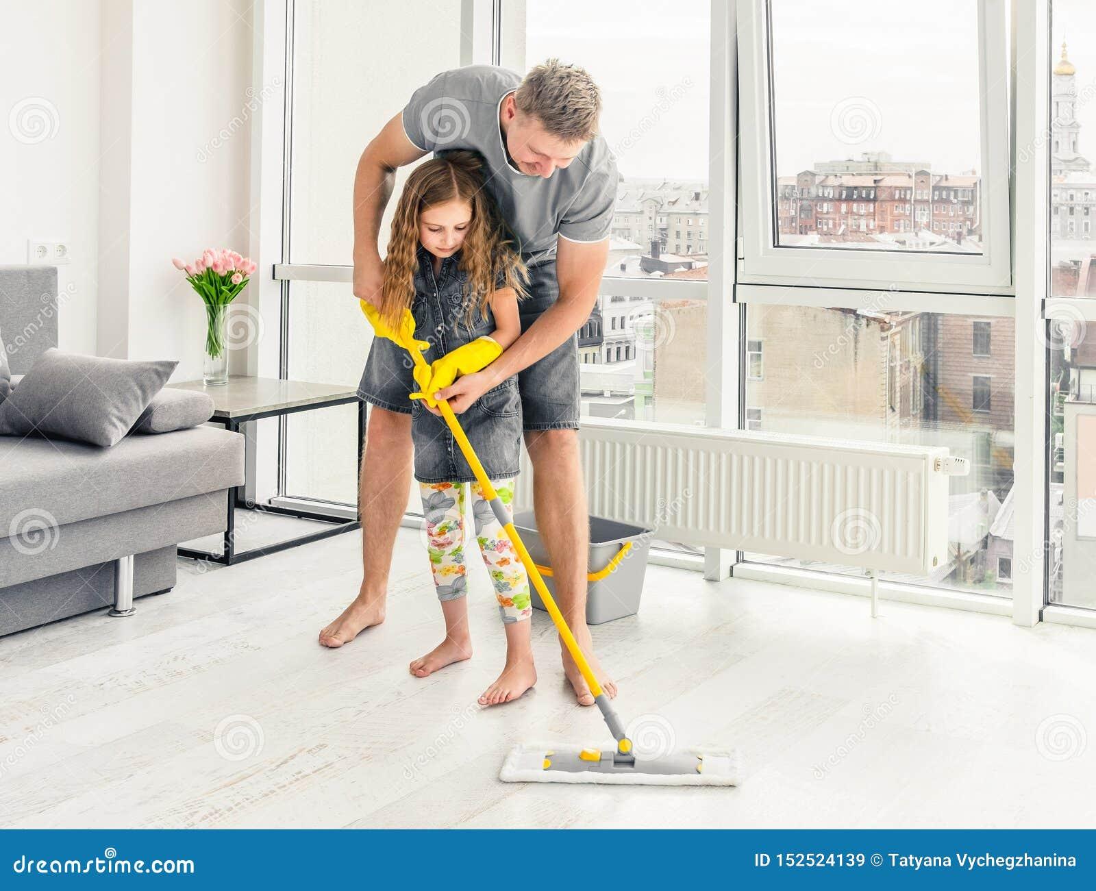 Дочь отца уча как очистить с mop