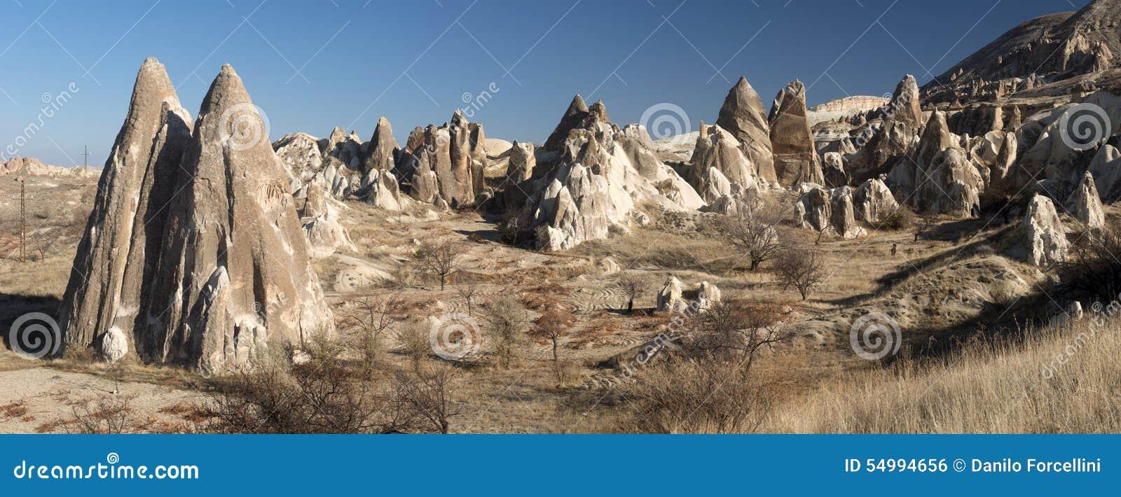 Долина влюбленности, зона Goreme, Турция