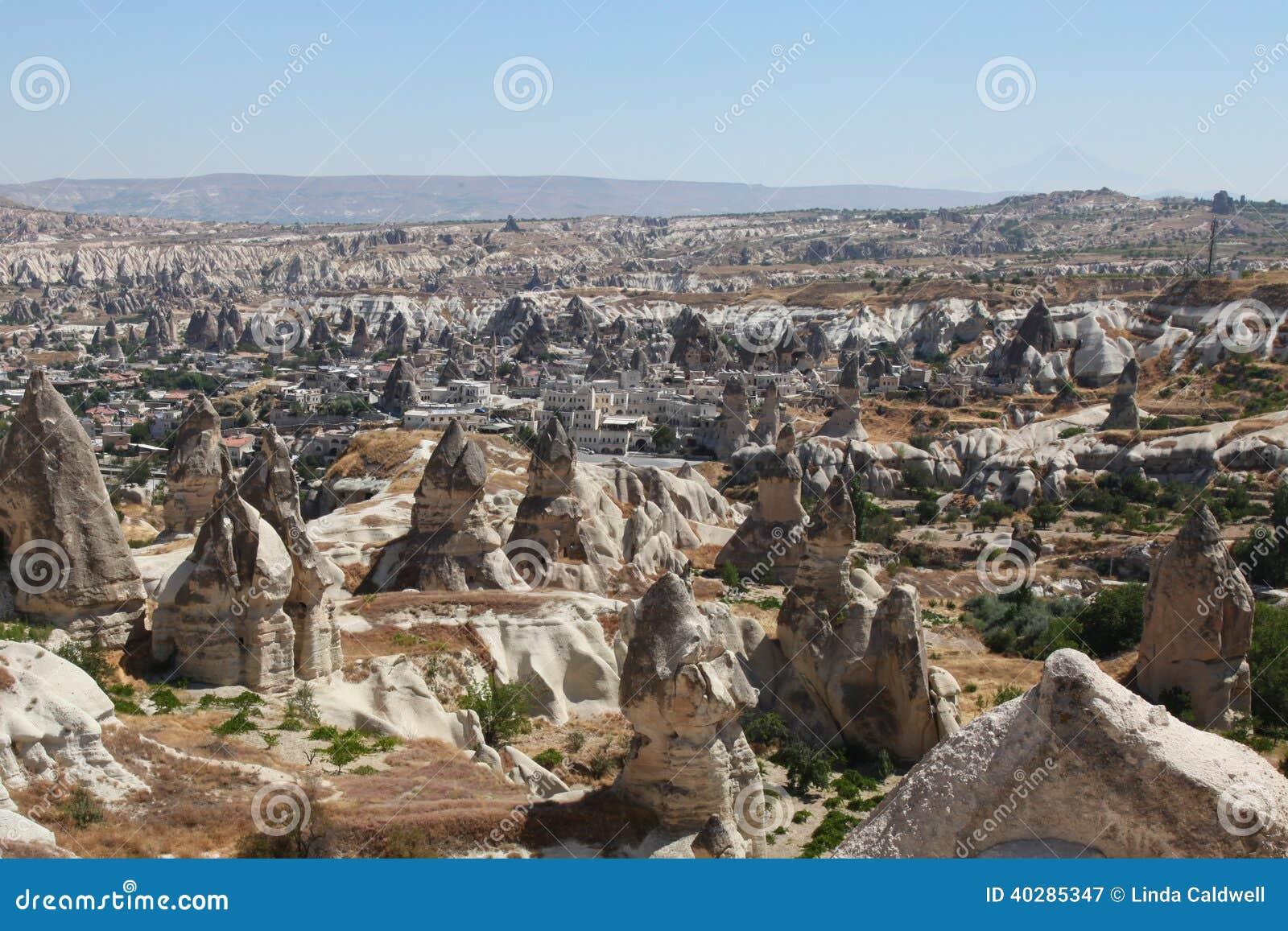 Долина Goreme, cappadocia, индюк